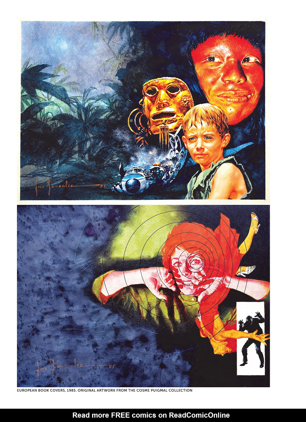 Read online The Art of Jose Gonzalez comic -  Issue # TPB (Part 3) - 15