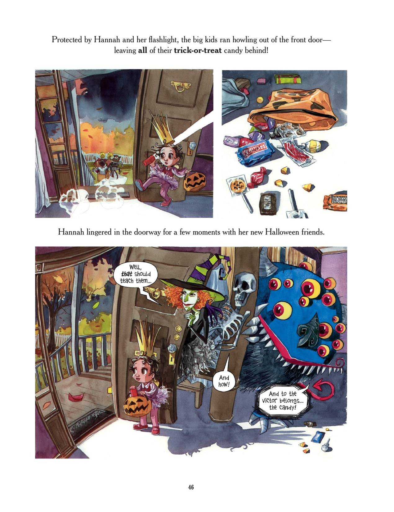 Read online Scary Godmother comic -  Issue # TPB - 46