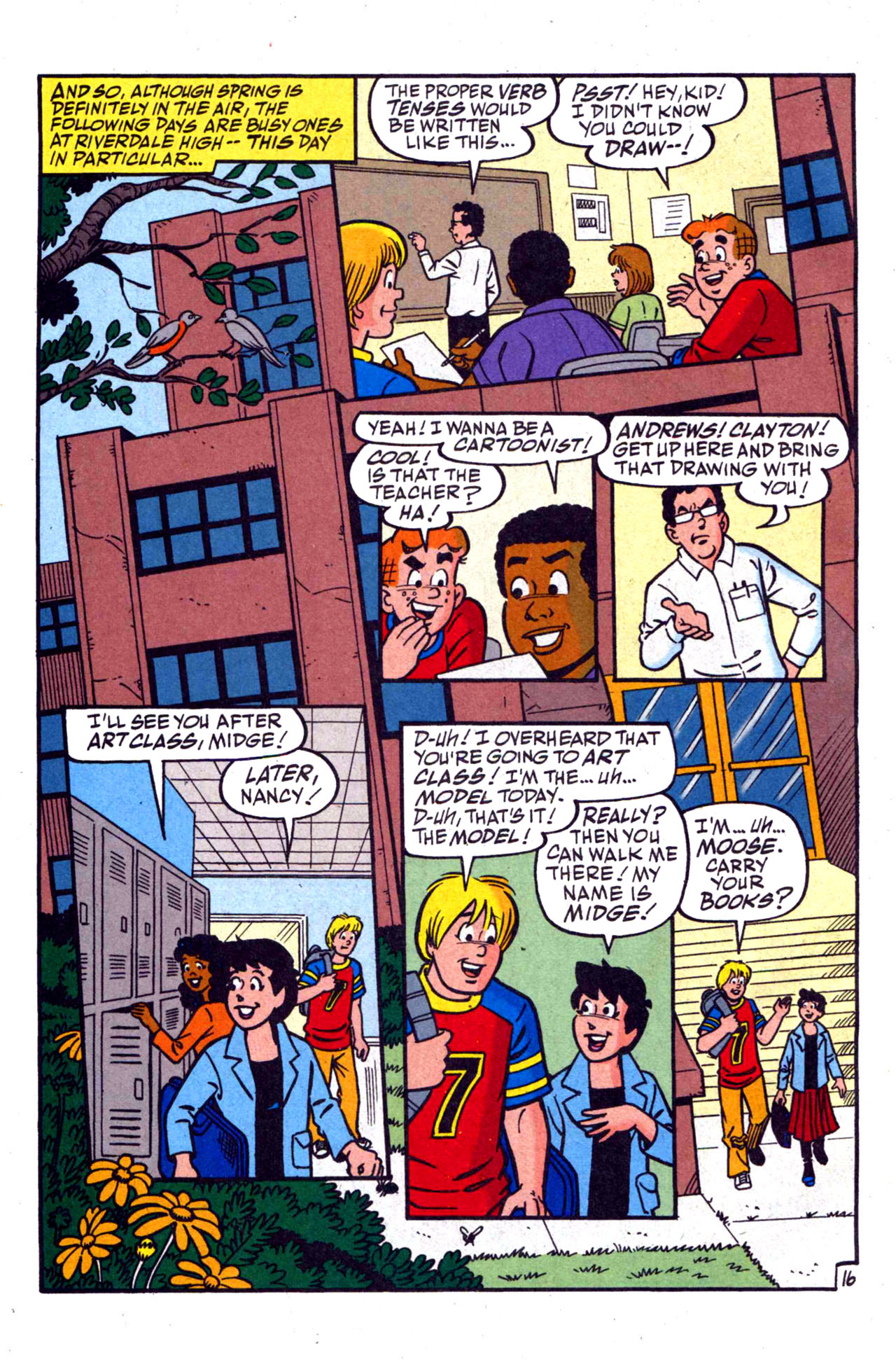 Read online Archie (1960) comic -  Issue #590 - 24