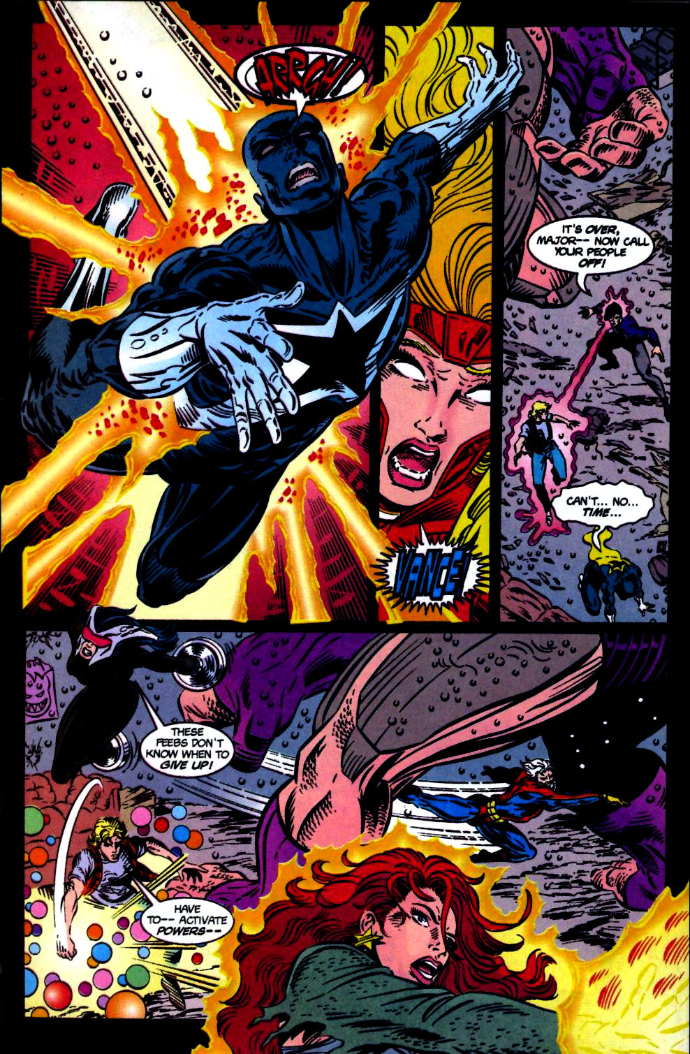 The New Warriors Issue #68 #72 - English 20