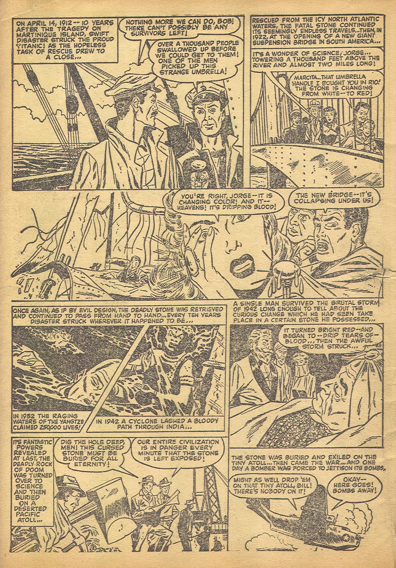 Read online Adventures into Weird Worlds comic -  Issue #8 - 5