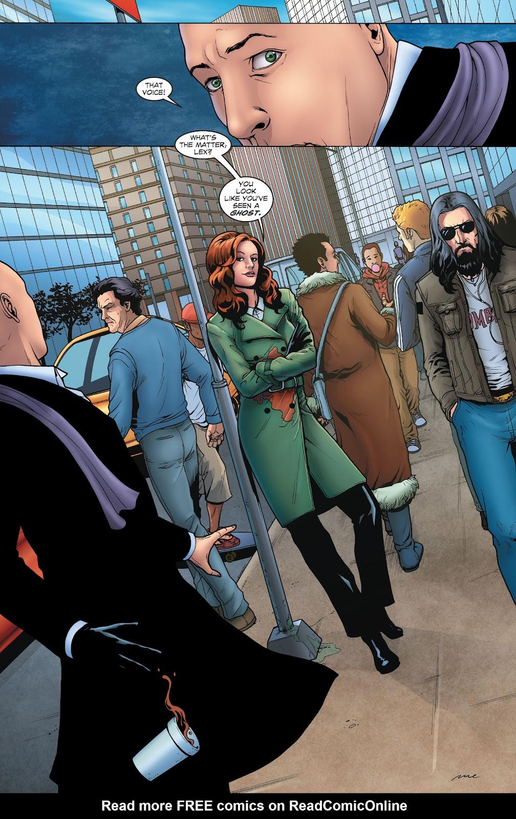 Read online Smallville Season 11 [II] comic -  Issue # TPB 1 - 26