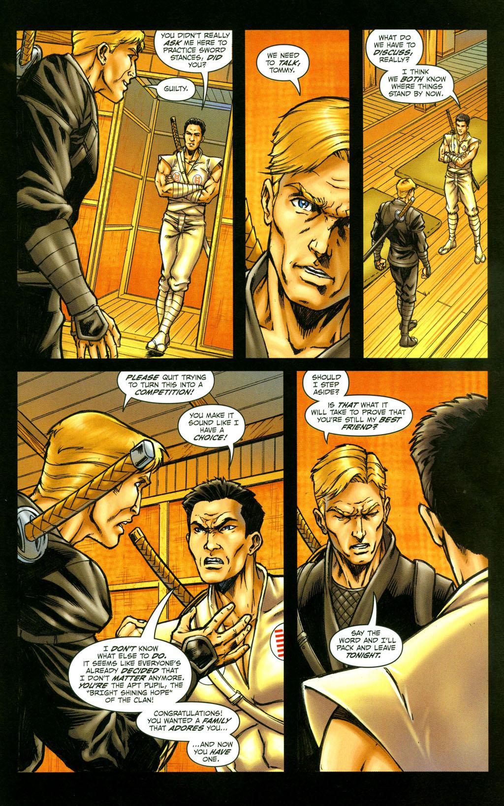 Read online Snake Eyes: Declassified comic -  Issue #4 - 19