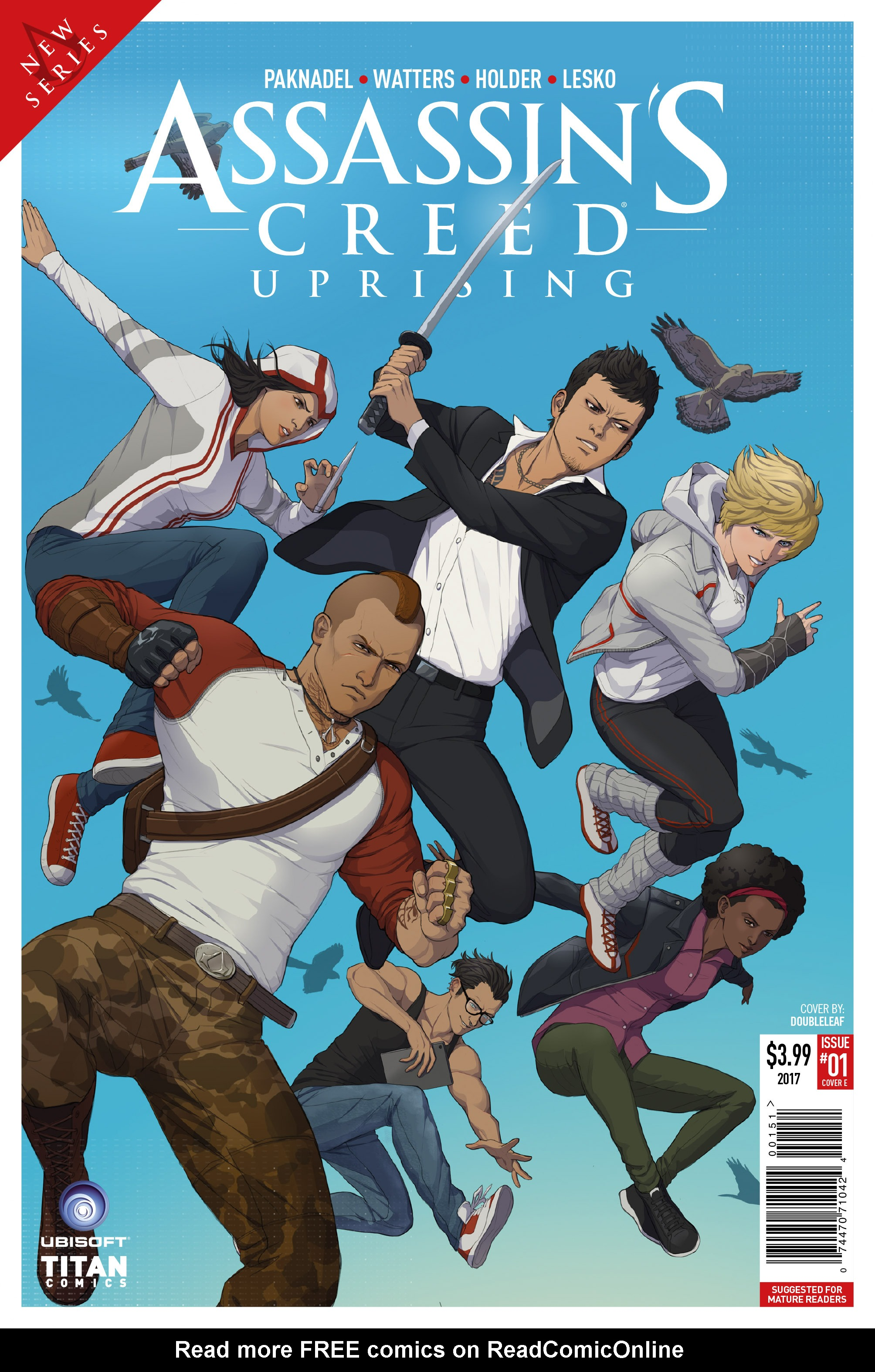 Read online Assassin's Creed: Uprising comic -  Issue #1 - 5