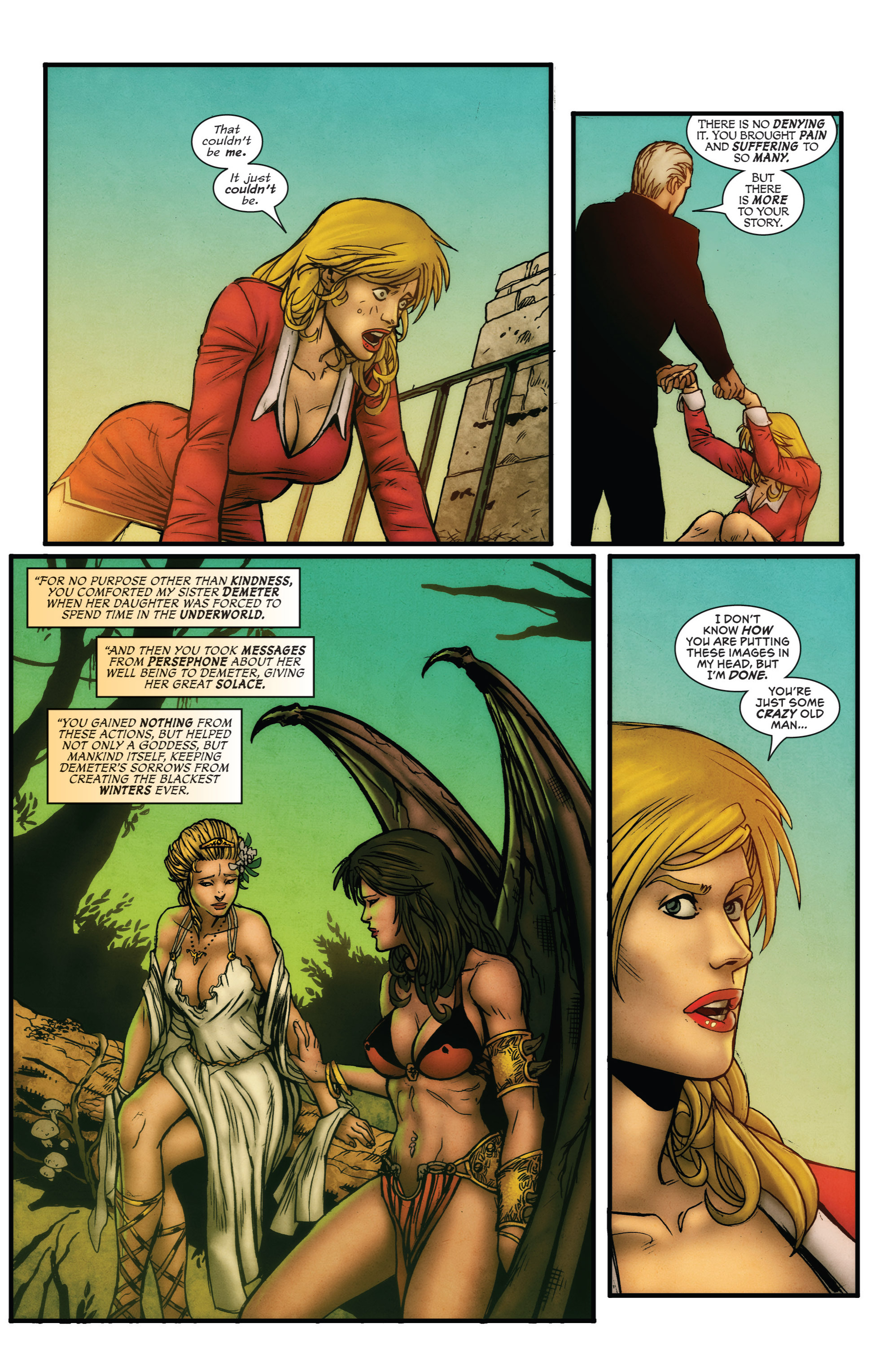 Read online Grimm Fairy Tales presents Grimm Universe comic -  Issue # TPB - 25