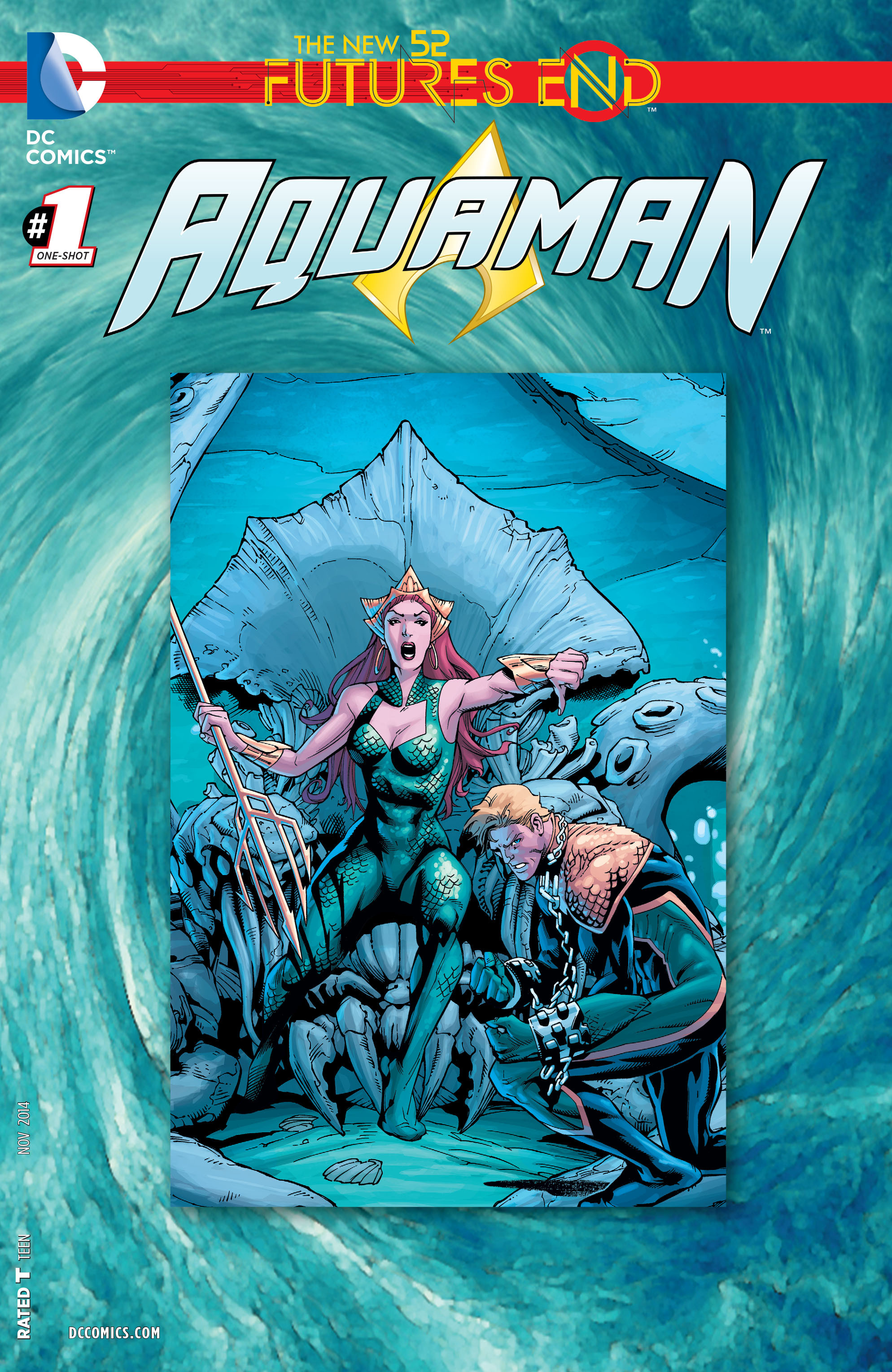 Read online Aquaman: Futures End comic -  Issue #Aquaman: Futures End Full - 1