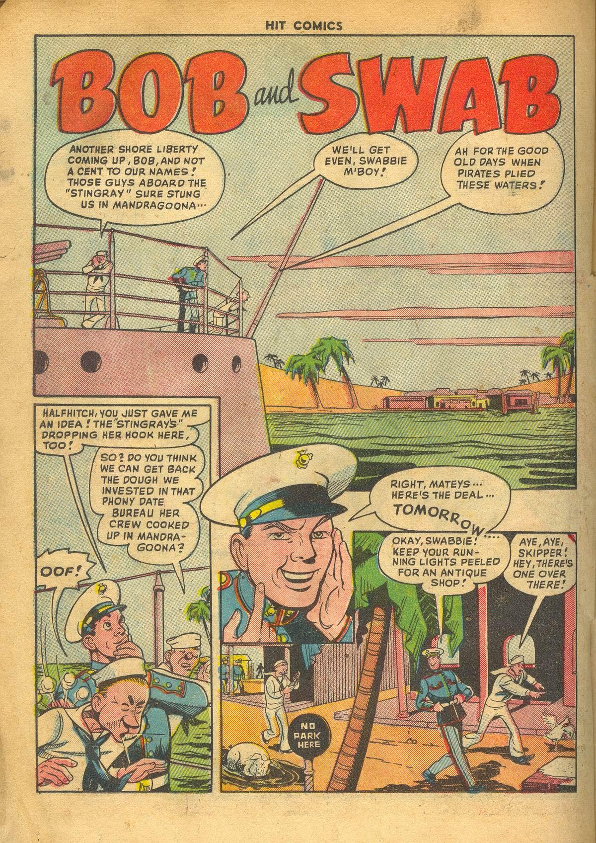 Read online Hit Comics comic -  Issue #60 - 22