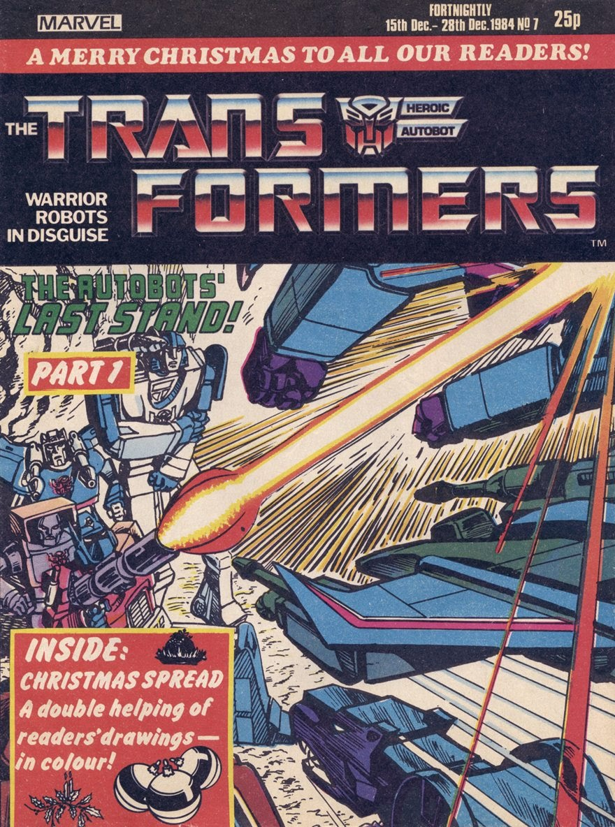 The Transformers (UK) 7 Page 1