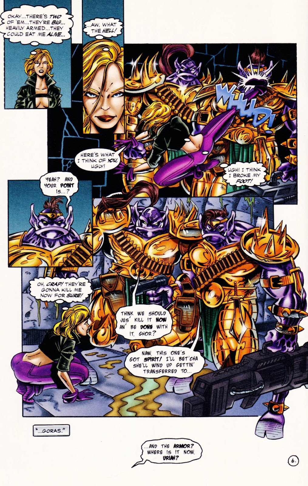 Read online The Alliance comic -  Issue #1 - 8
