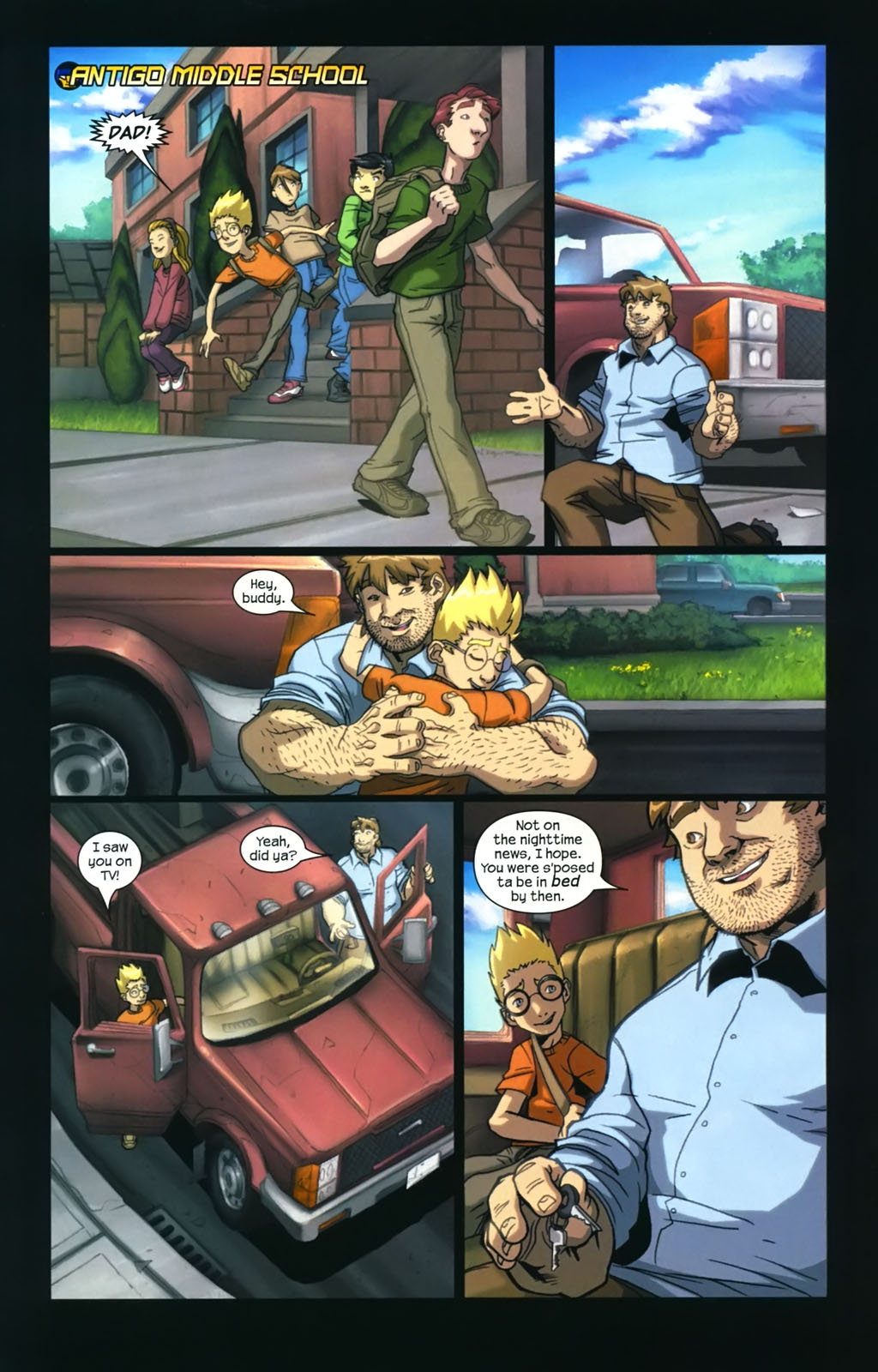 Read online Sentinel (2006) comic -  Issue #4 - 11