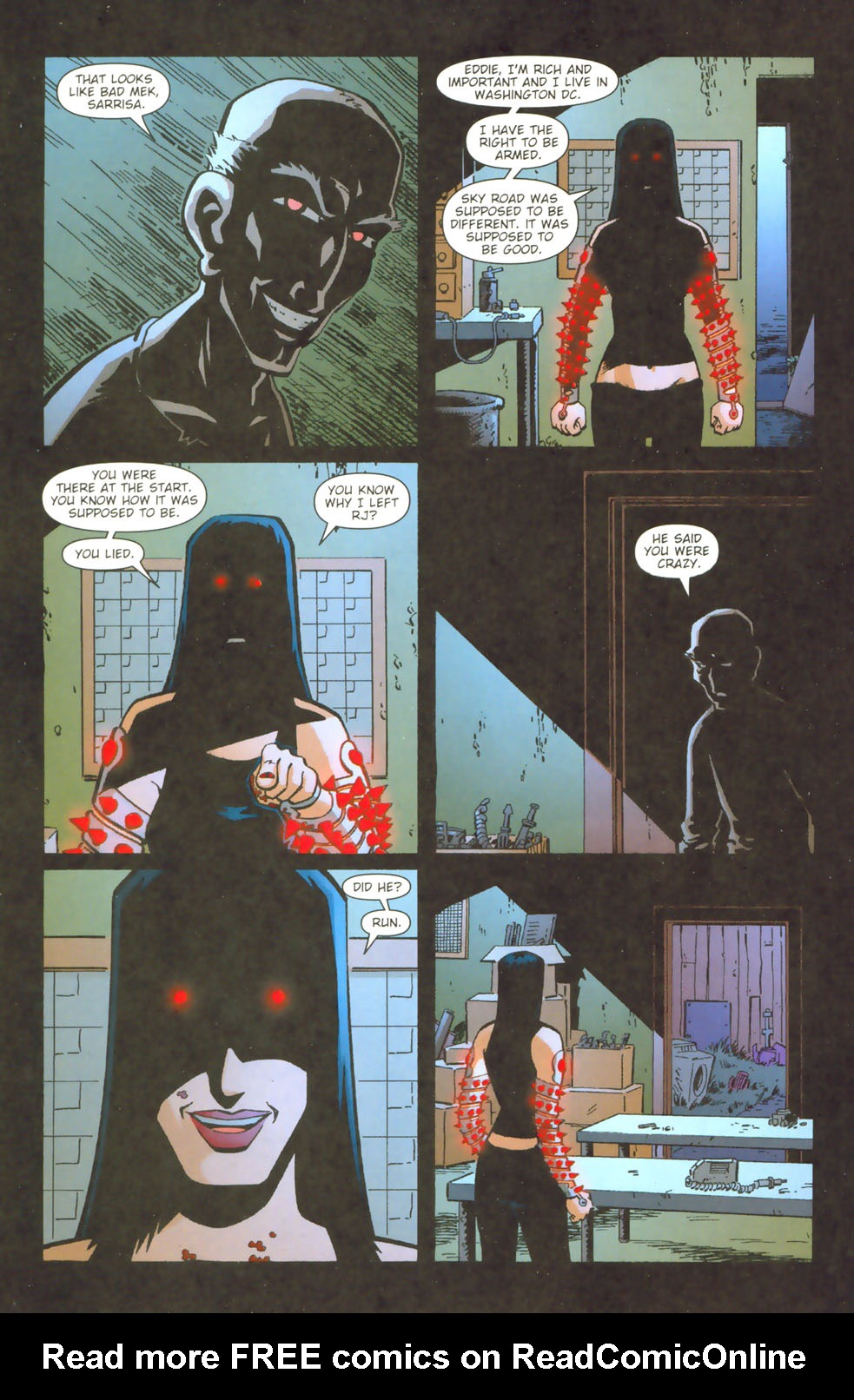 Read online Mek comic -  Issue #3 - 19