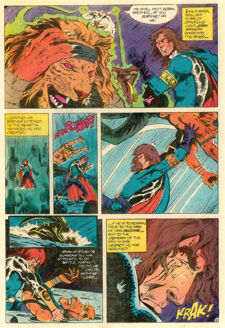 Read online Arion, Lord of Atlantis comic -  Issue #18 - 15
