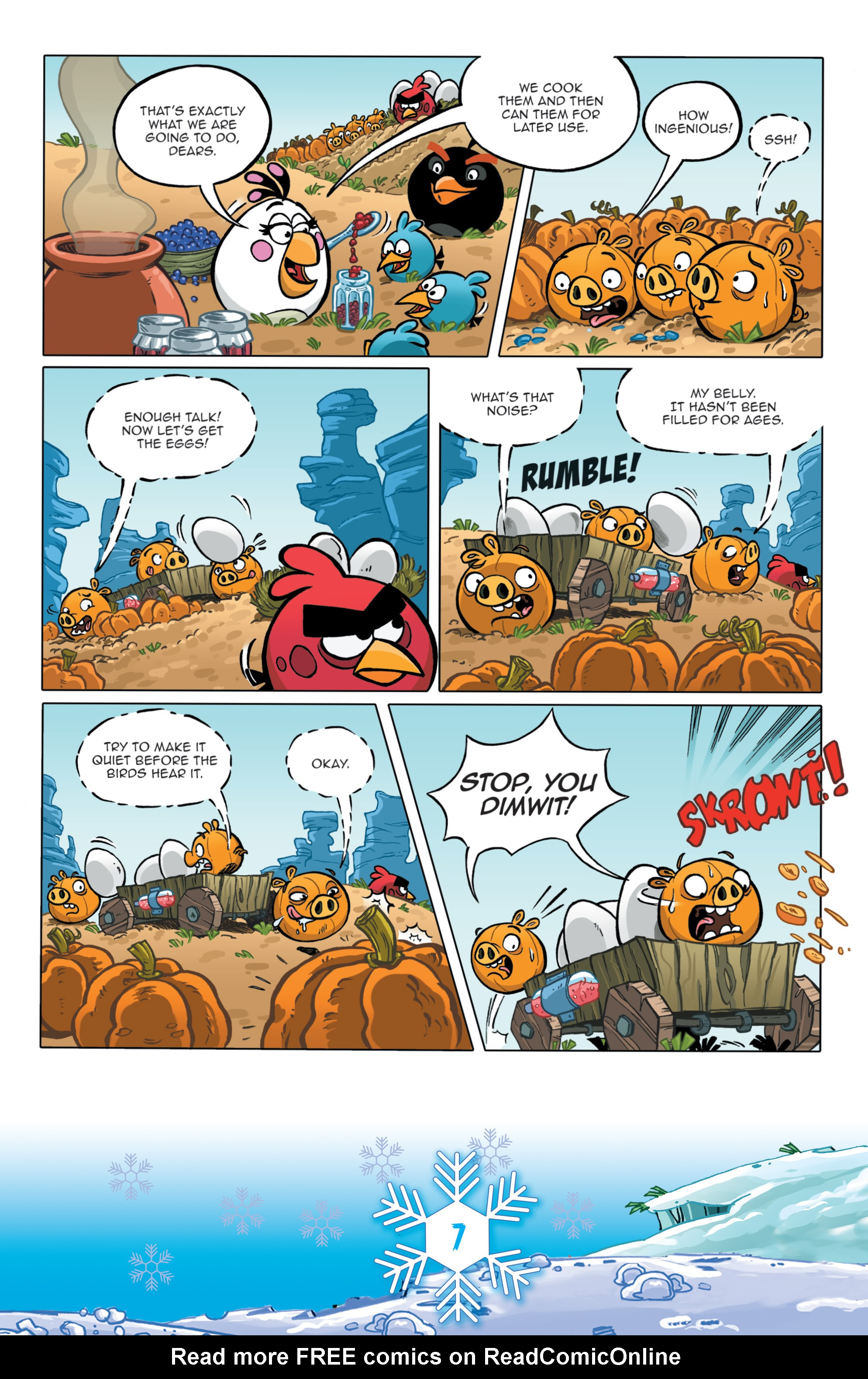 Read online Angry Birds Comics (2016) comic -  Issue #12 - 9