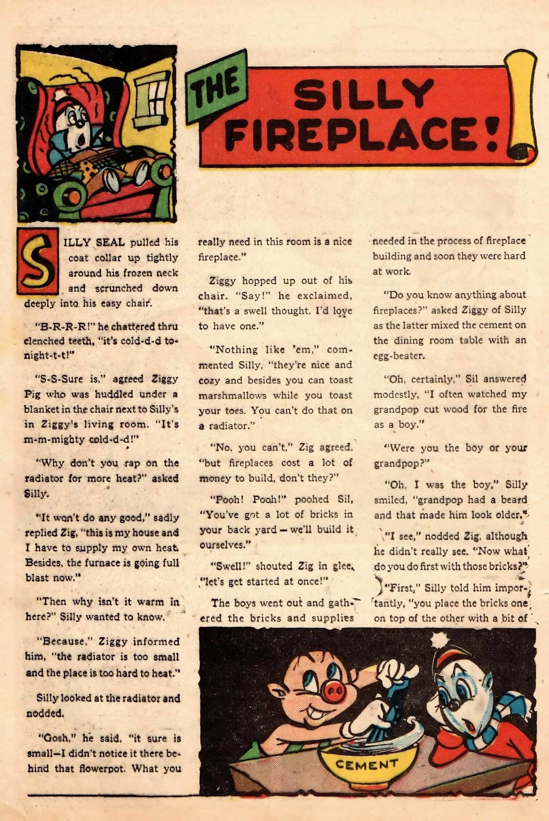 Ziggy Pig-Silly Seal Comics (1944) issue 2 - Page 30
