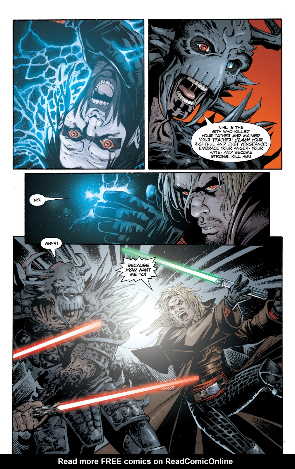 Read online Star Wars Legends: Legacy - Epic Collection comic -  Issue # TPB 1 (Part 5) - 47