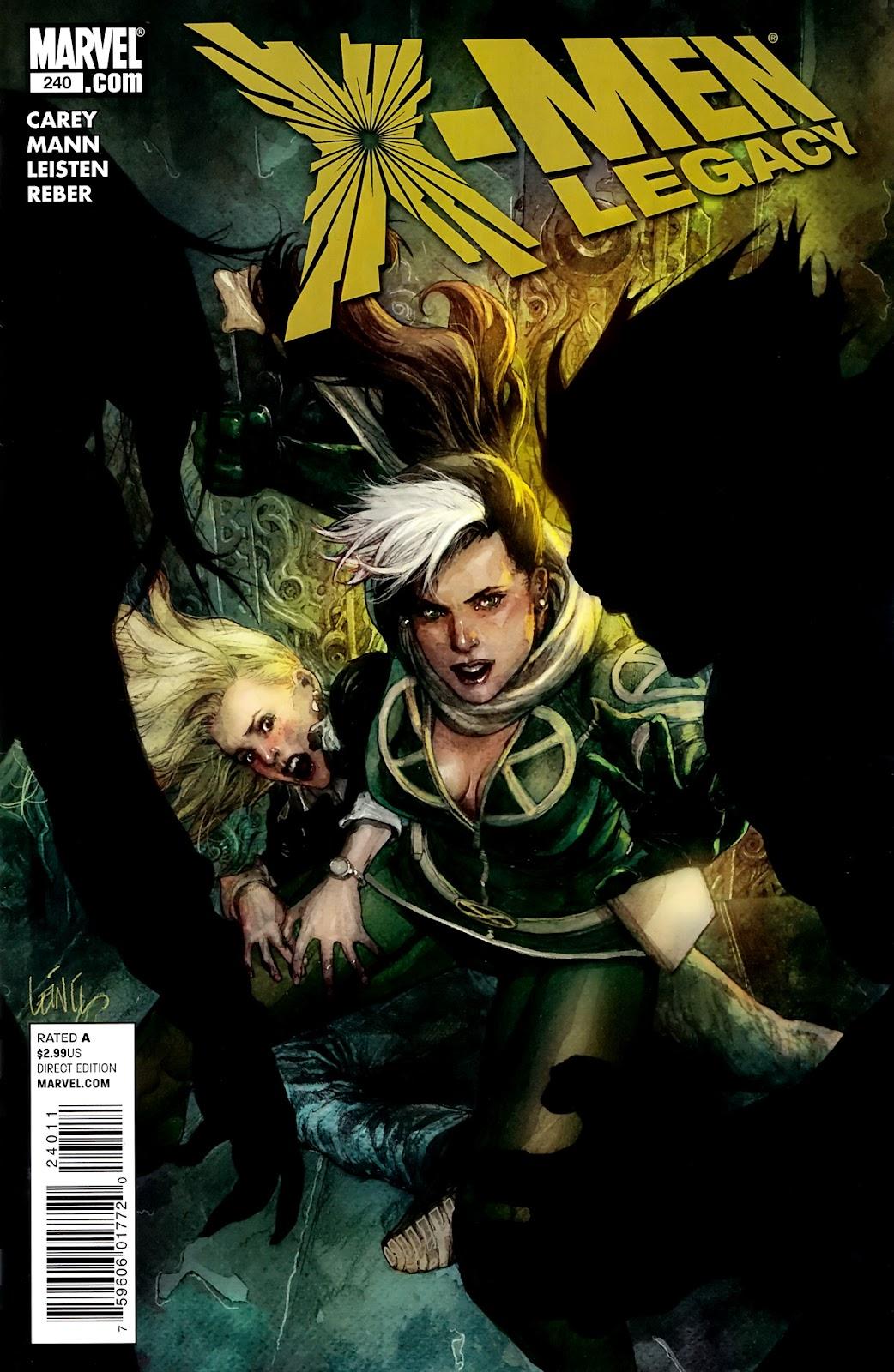 X-Men Legacy (2008) 240 Page 1