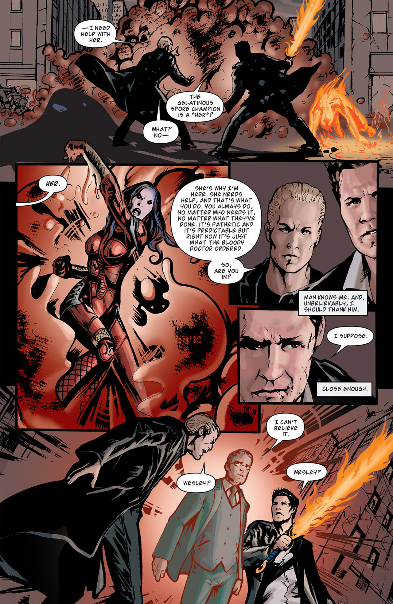Read online Angel: After The Fall comic -  Issue #5 - 25