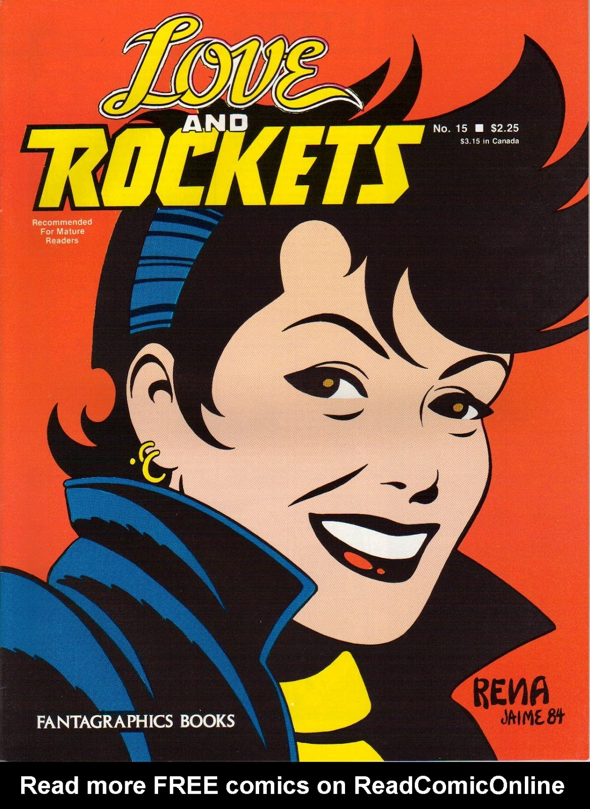 Love and Rockets (1982) issue 15 - Page 1