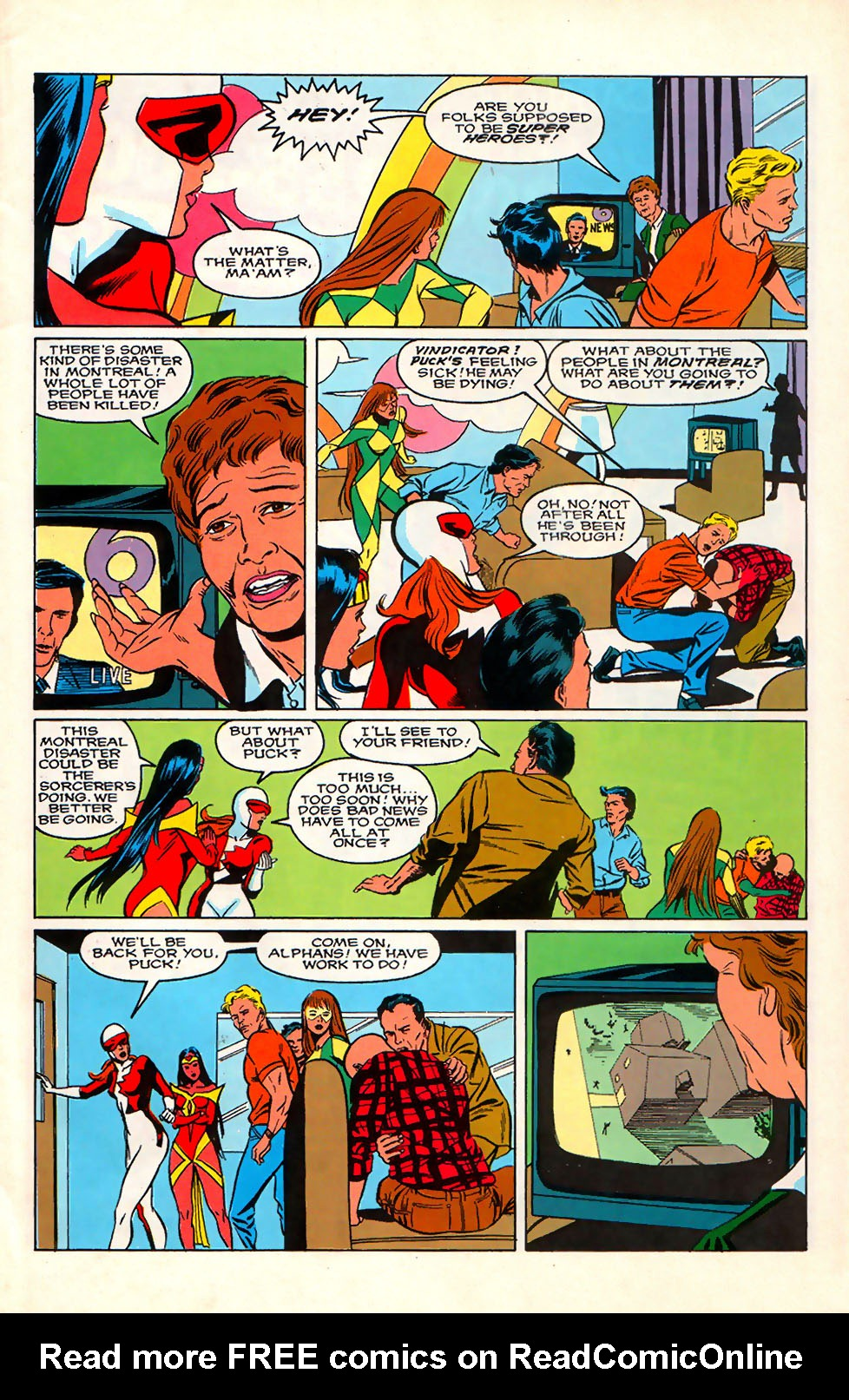 Read online Alpha Flight (1983) comic -  Issue #76 - 9