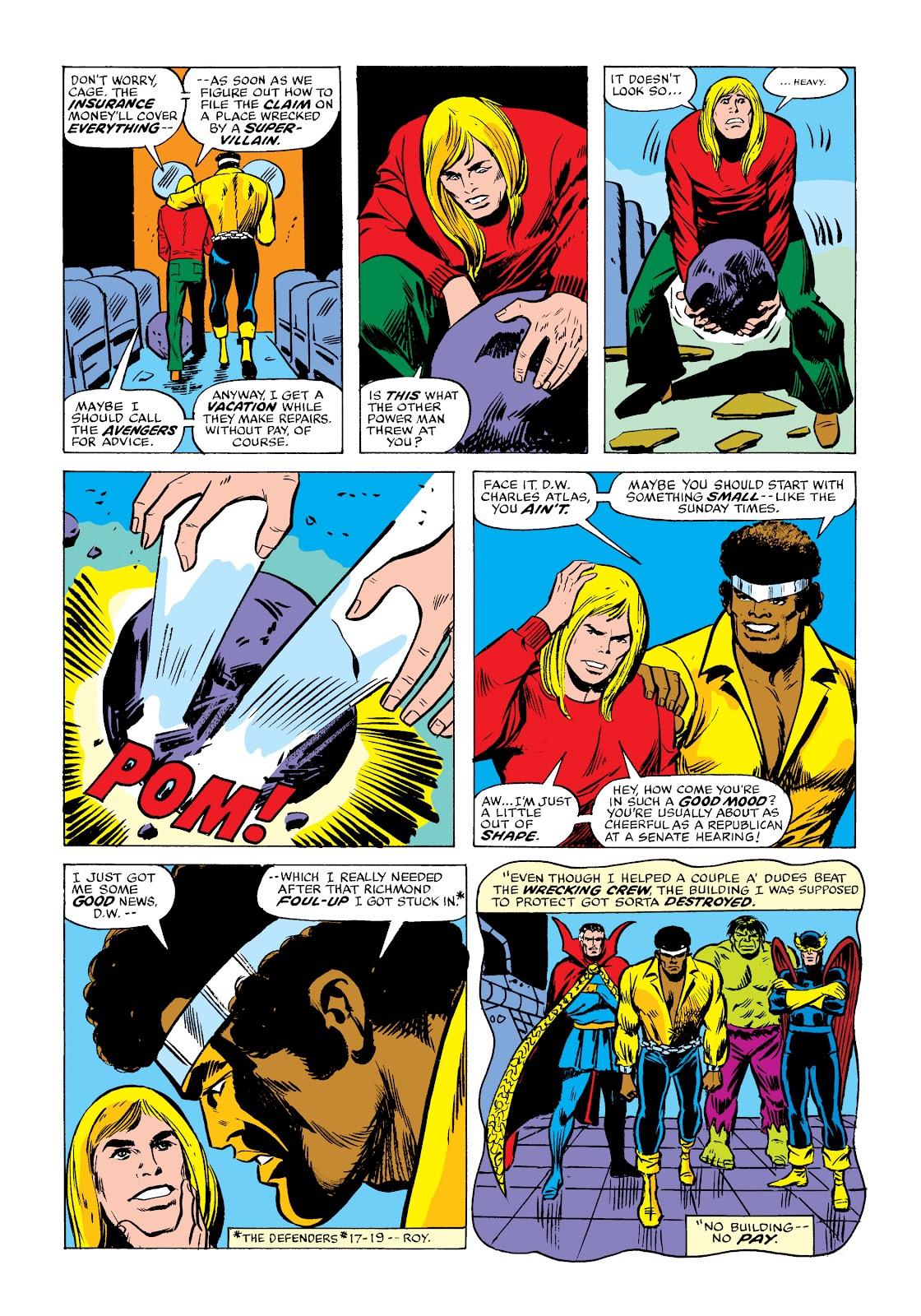 Read online Marvel Masterworks: Luke Cage, Power Man comic -  Issue # TPB 2 (Part 2) - 8