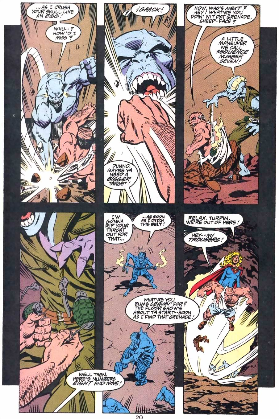 Read online Adventures of Superman (1987) comic -  Issue #499 - 21