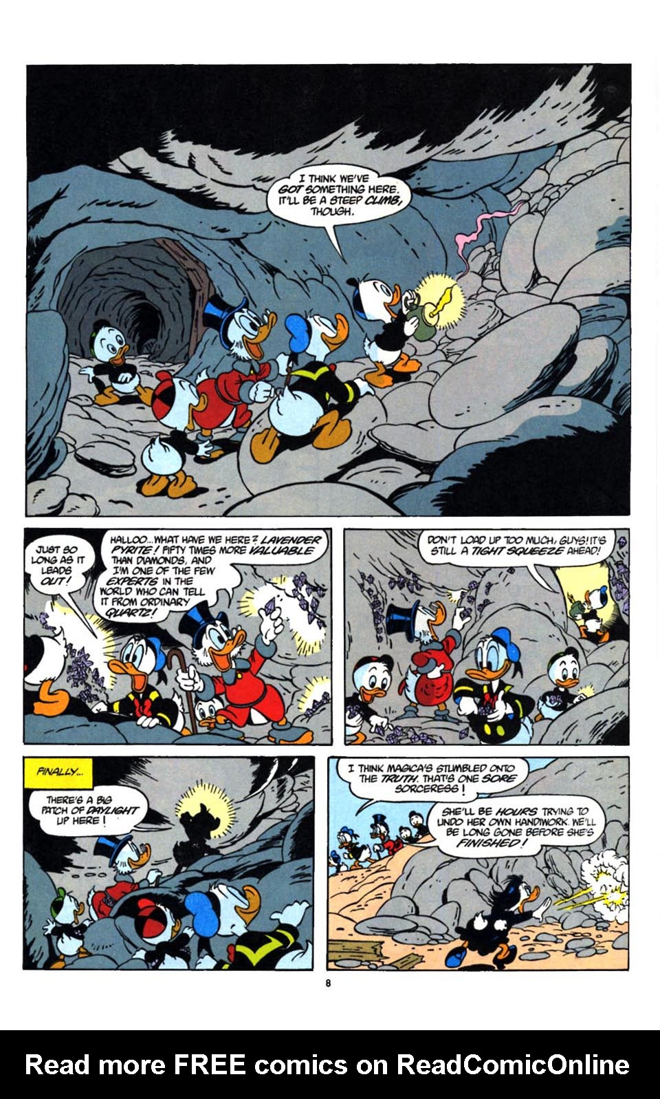 Read online Uncle Scrooge (1953) comic -  Issue #247 - 9