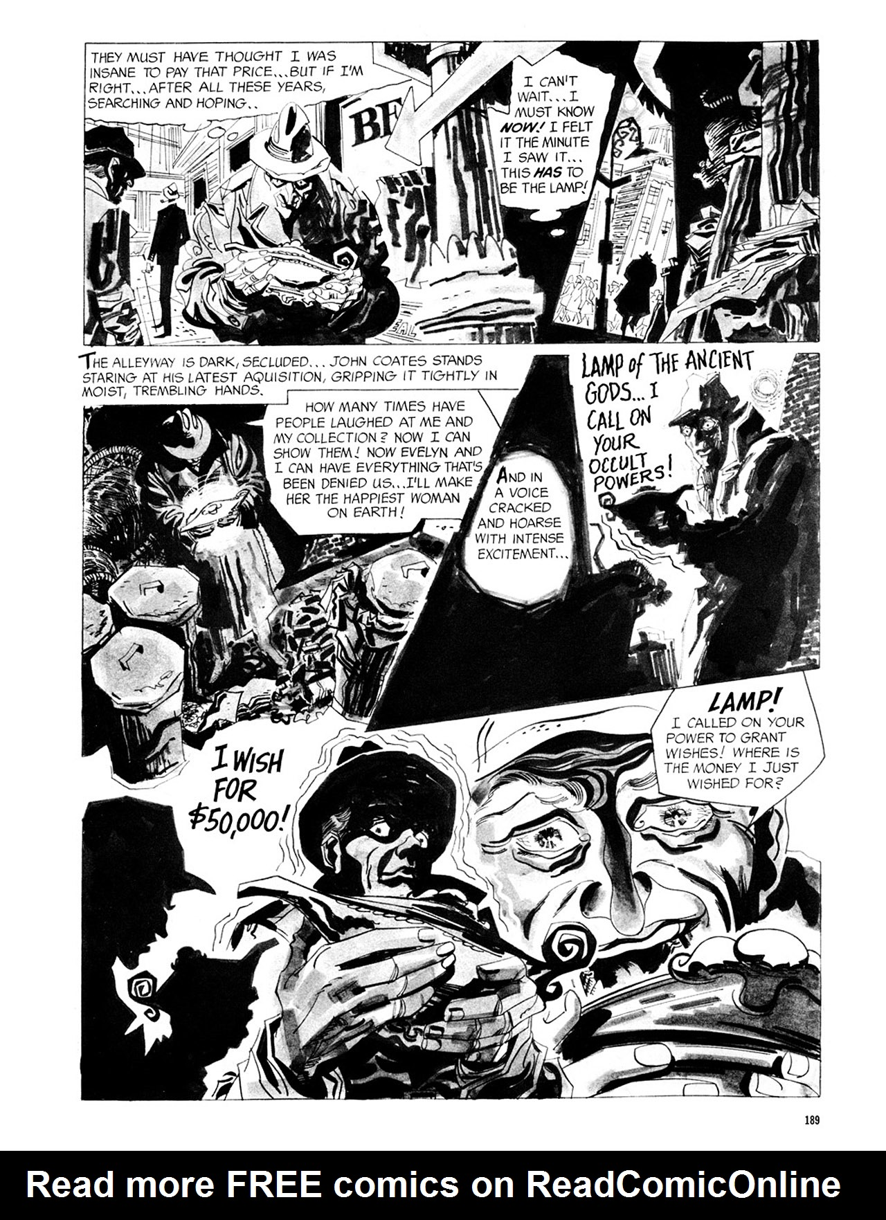 Read online Eerie Archives comic -  Issue # TPB 2 - 190