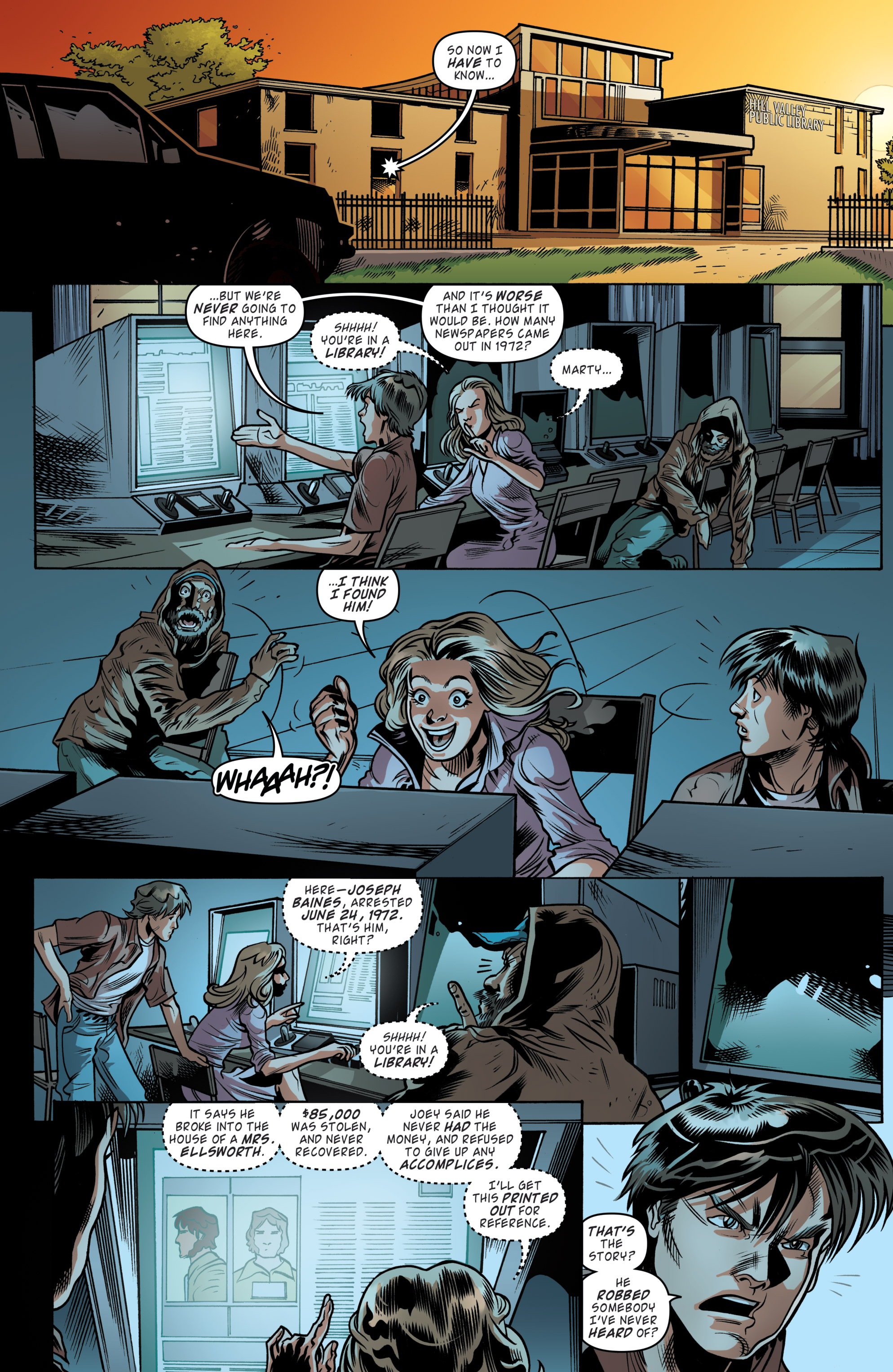 Read online Back to the Future (2015) comic -  Issue #19 - 19