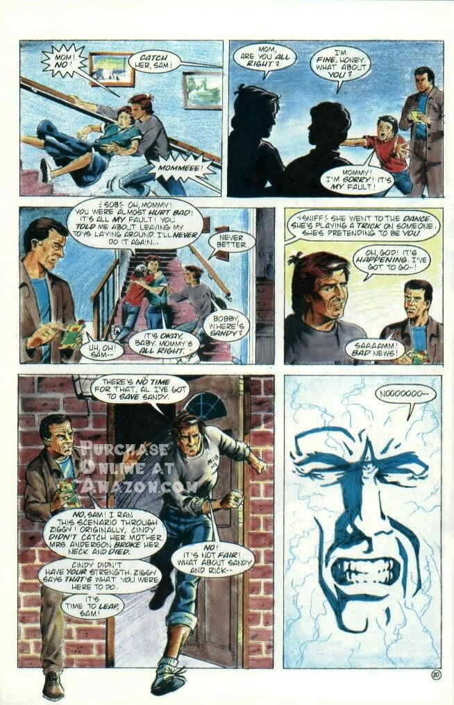 Read online Quantum Leap comic -  Issue #6 - 21