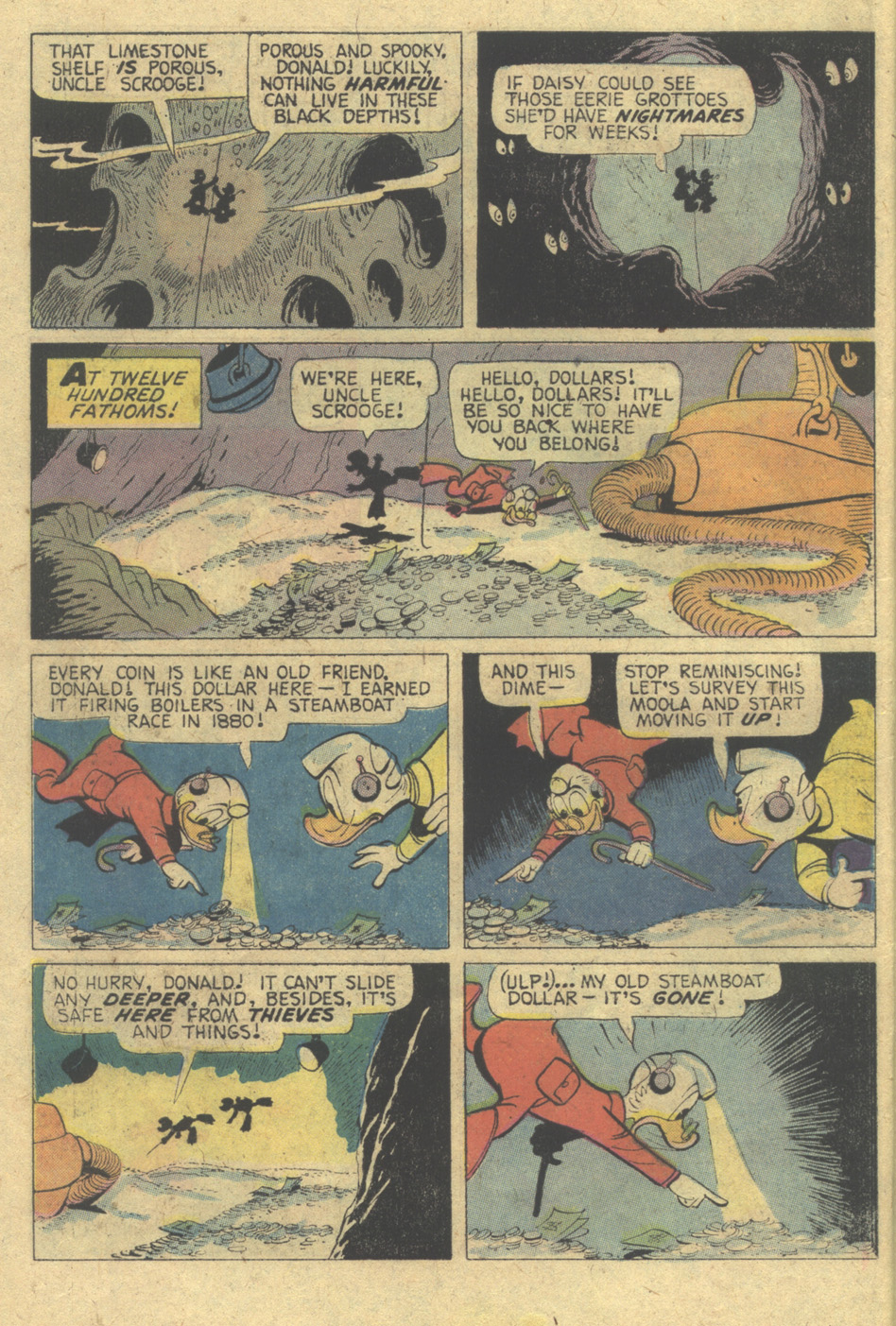 Read online Uncle Scrooge (1953) comic -  Issue #125 - 10
