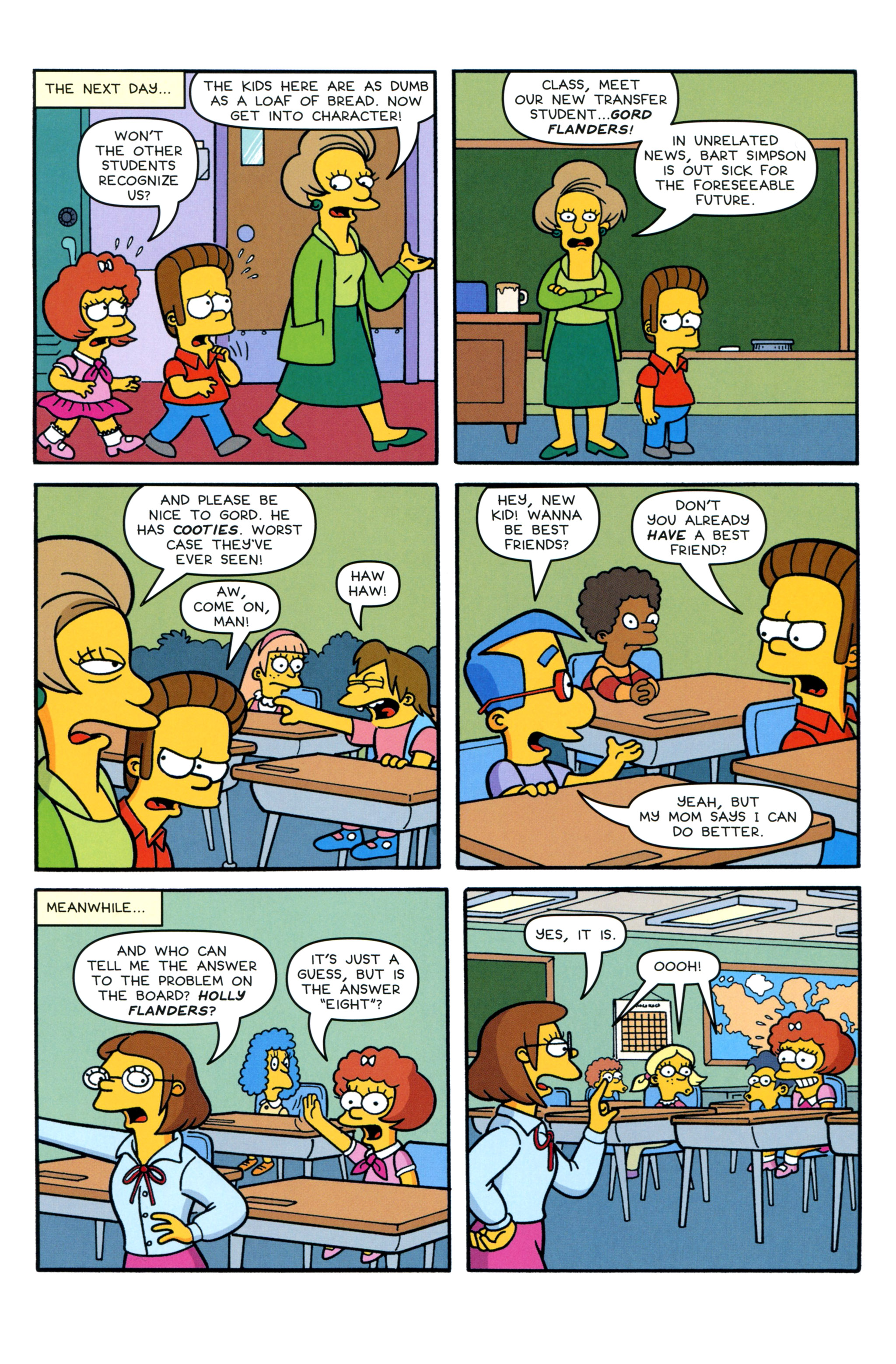 Read online Simpsons Comics comic -  Issue #213 - 11