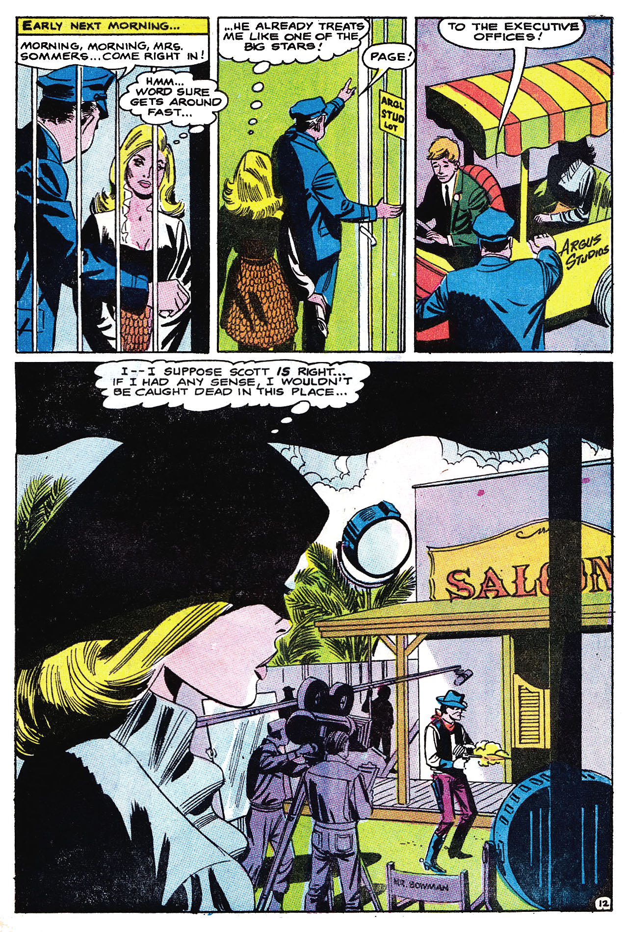 Read online Secret Hearts comic -  Issue #132 - 28