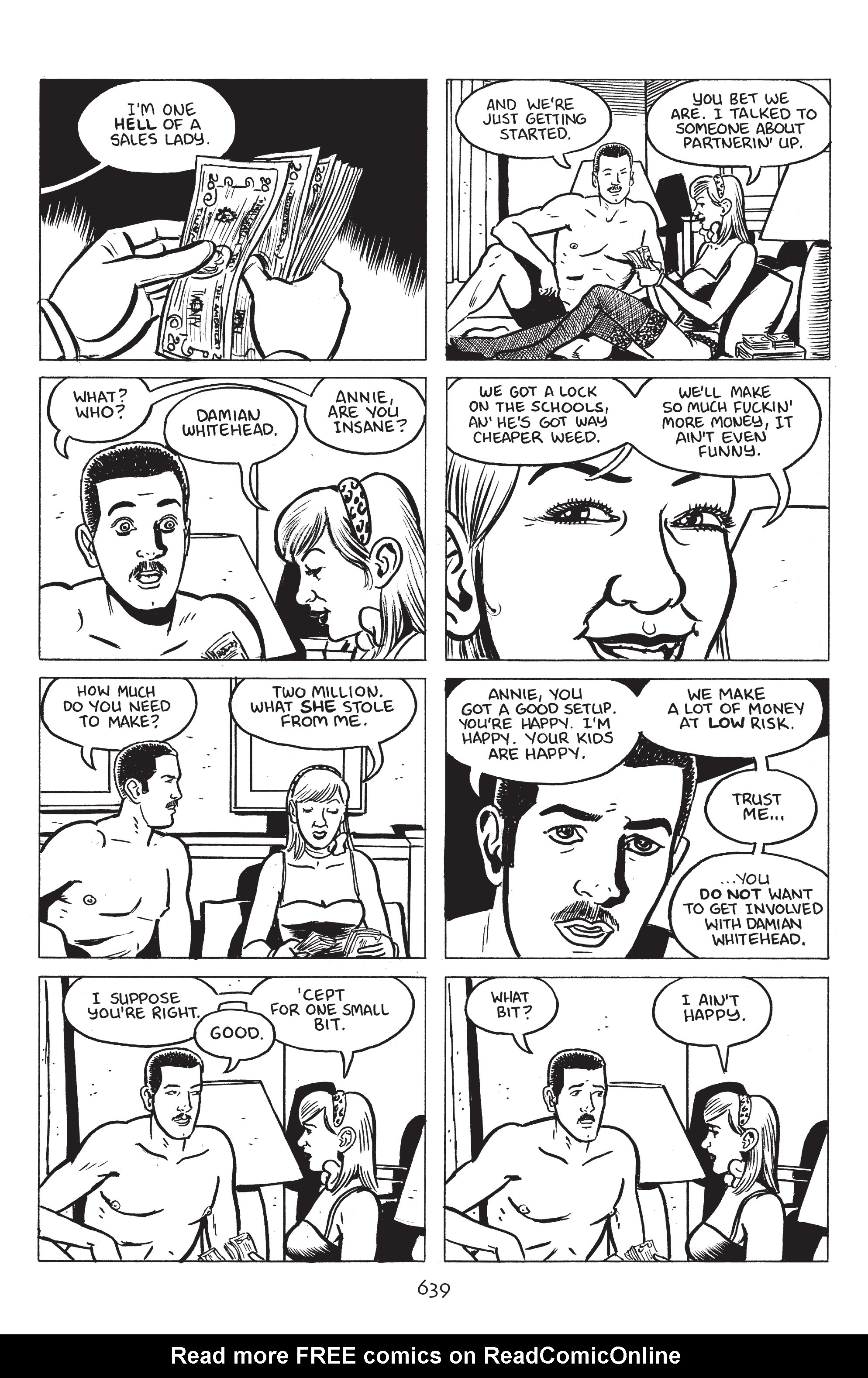 Read online Stray Bullets: Sunshine & Roses comic -  Issue #23 - 22