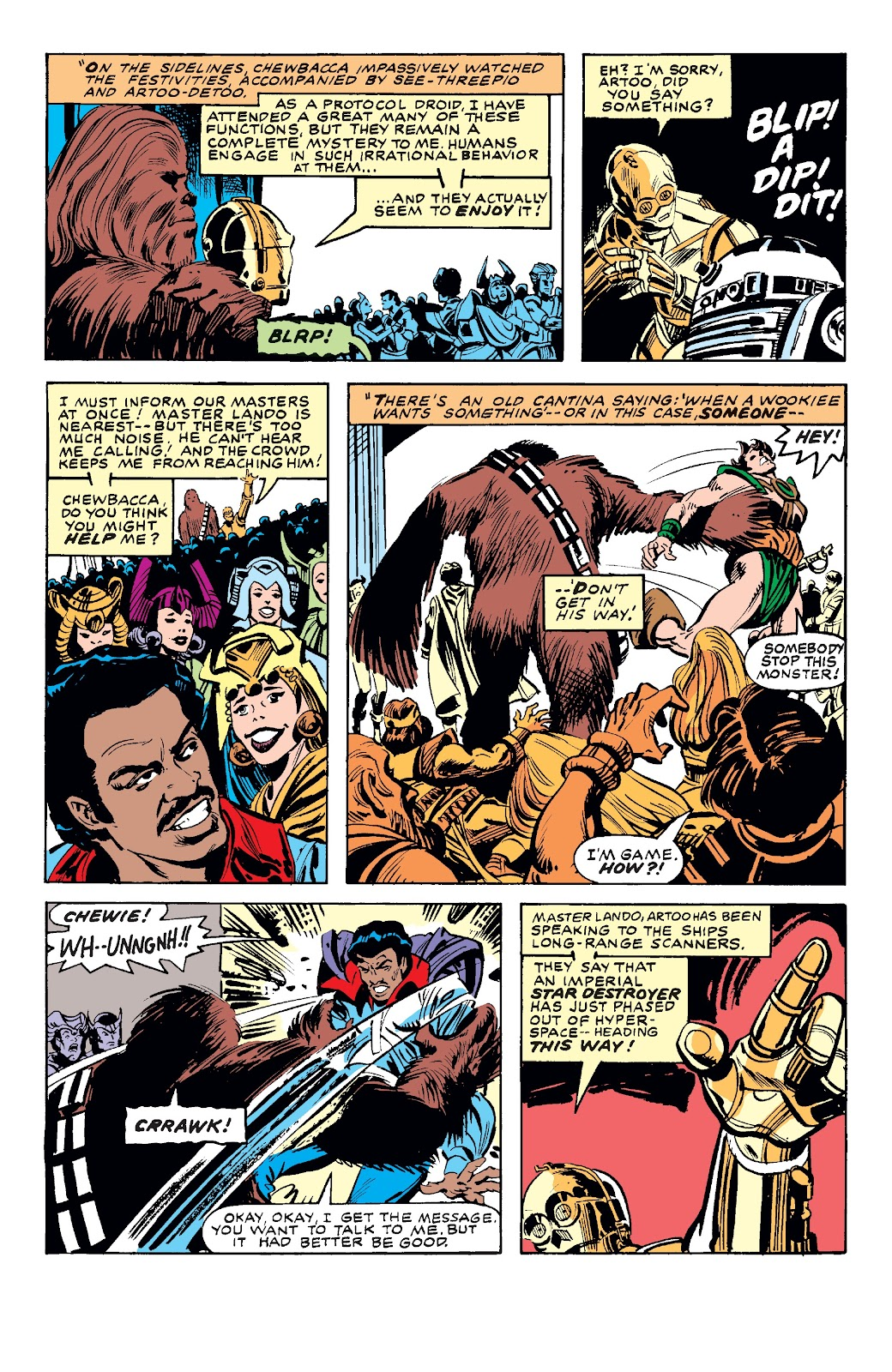 Read online Star Wars Legends: The Original Marvel Years - Epic Collection comic -  Issue # TPB 3 (Part 4) - 50