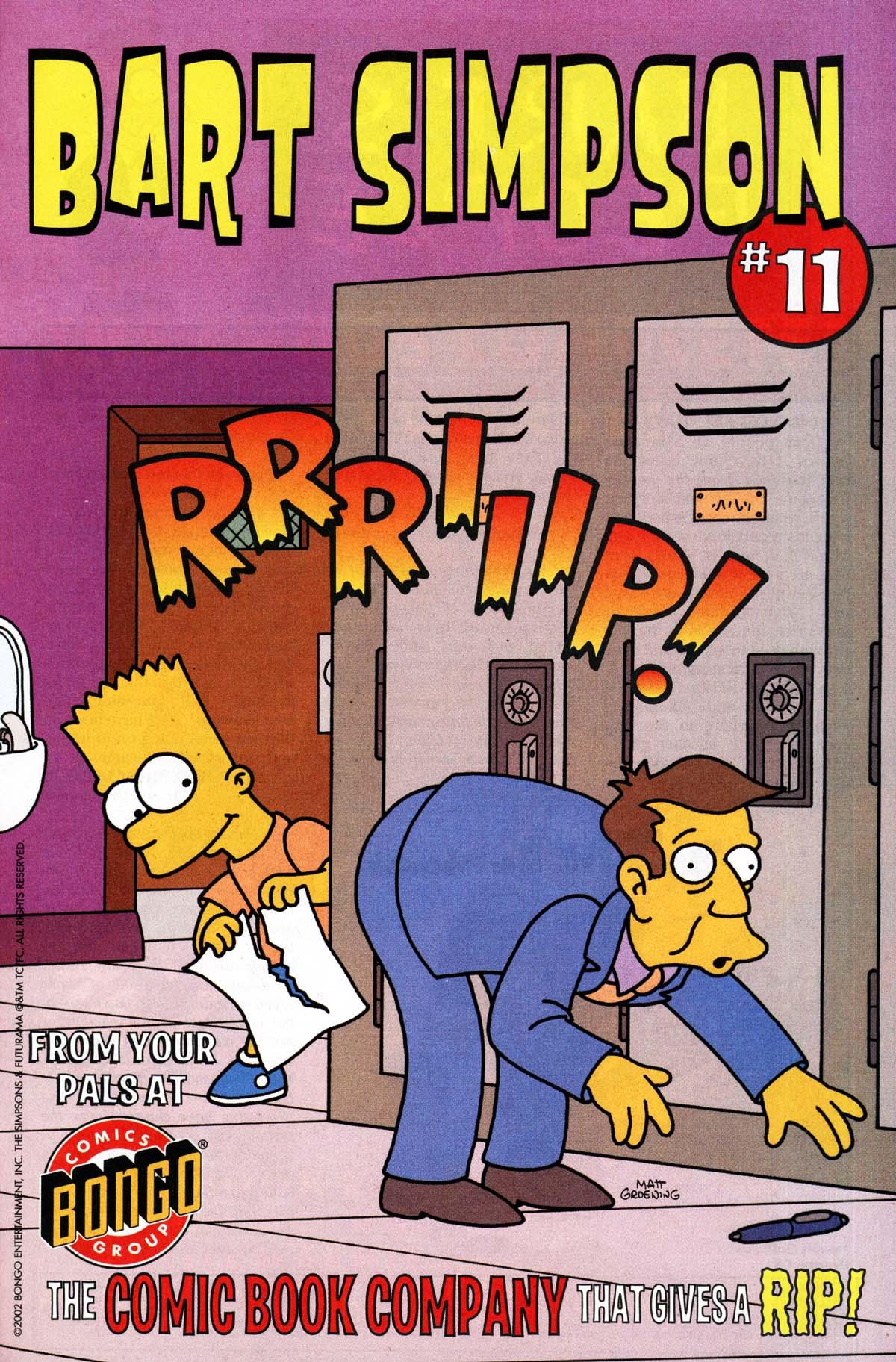 Read online Simpsons Comics Presents Bart Simpson comic -  Issue #10 - 30