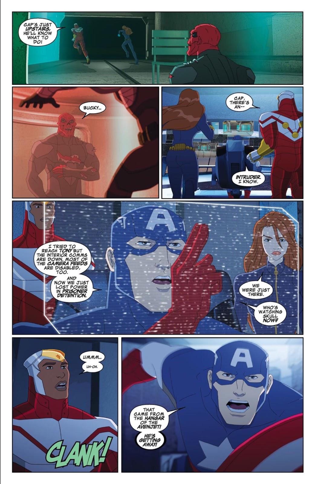 Read online Marvel Universe Avengers Assemble Season 2 comic -  Issue #4 - 7