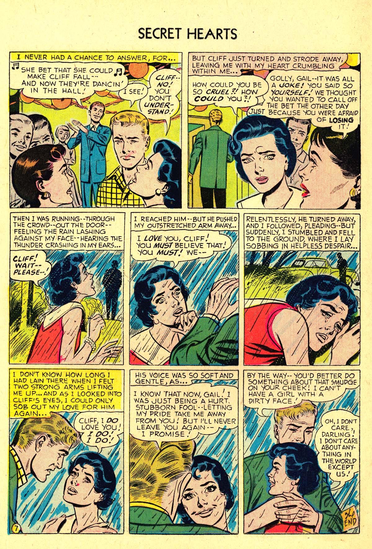 Read online Secret Hearts comic -  Issue #37 - 16