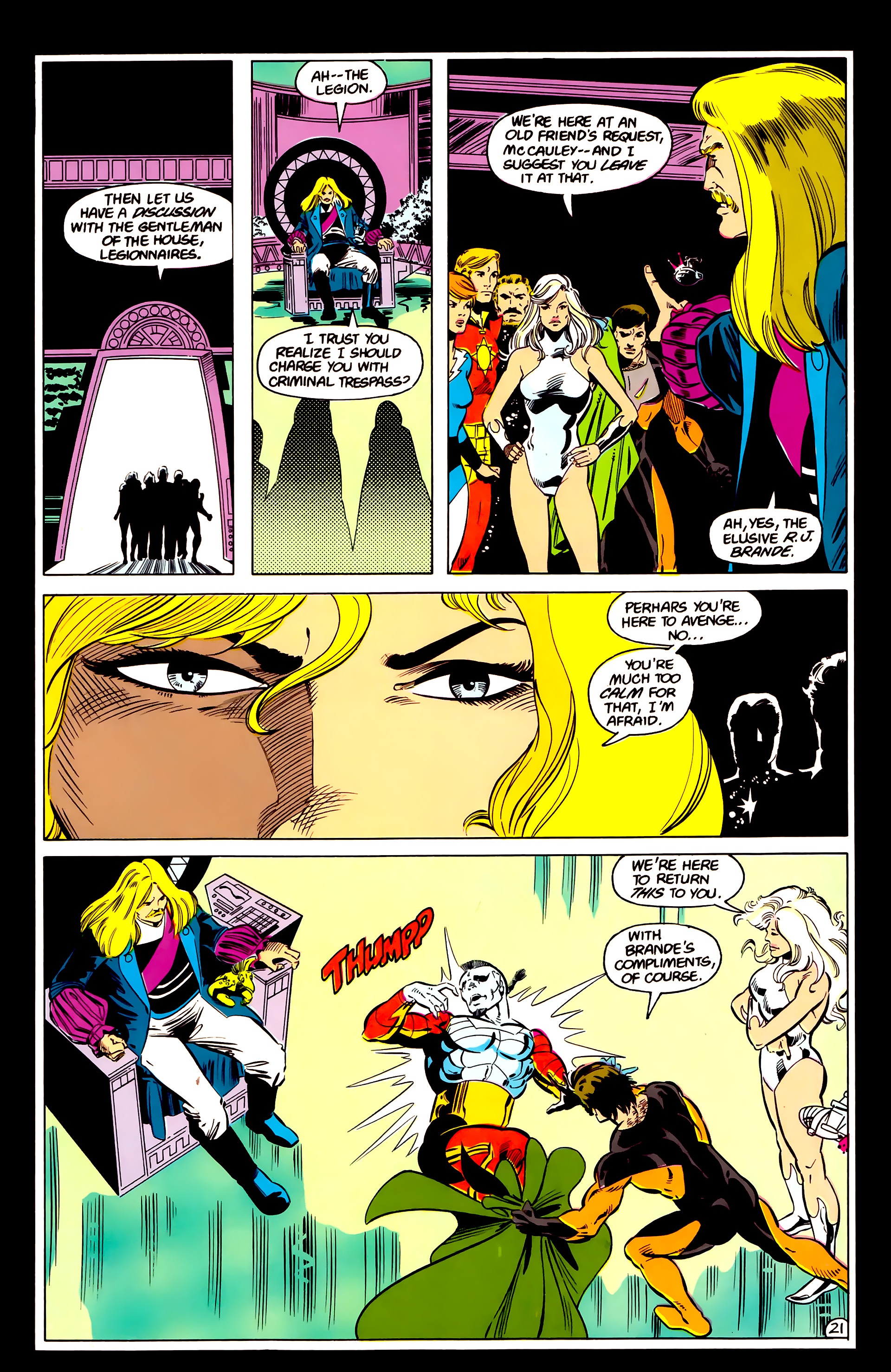 Legion of Super-Heroes (1984) 17 Page 22