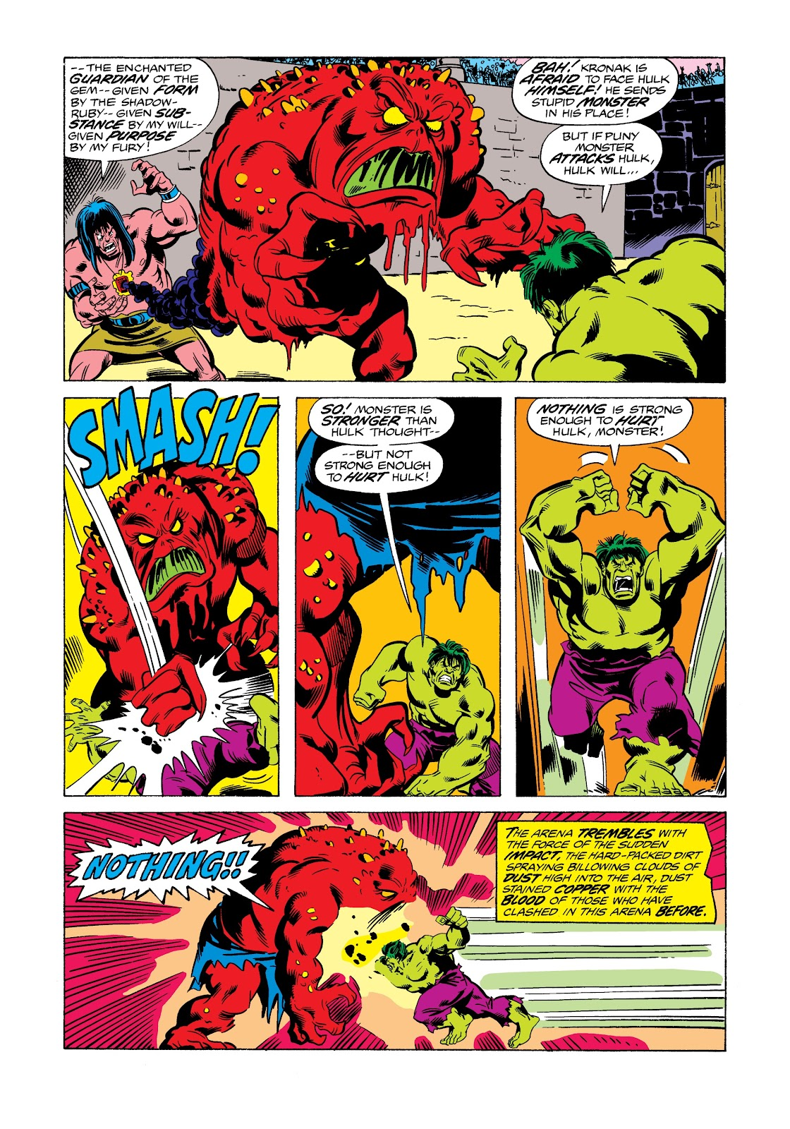 Read online Marvel Masterworks: The Incredible Hulk comic -  Issue # TPB 12 (Part 2) - 32
