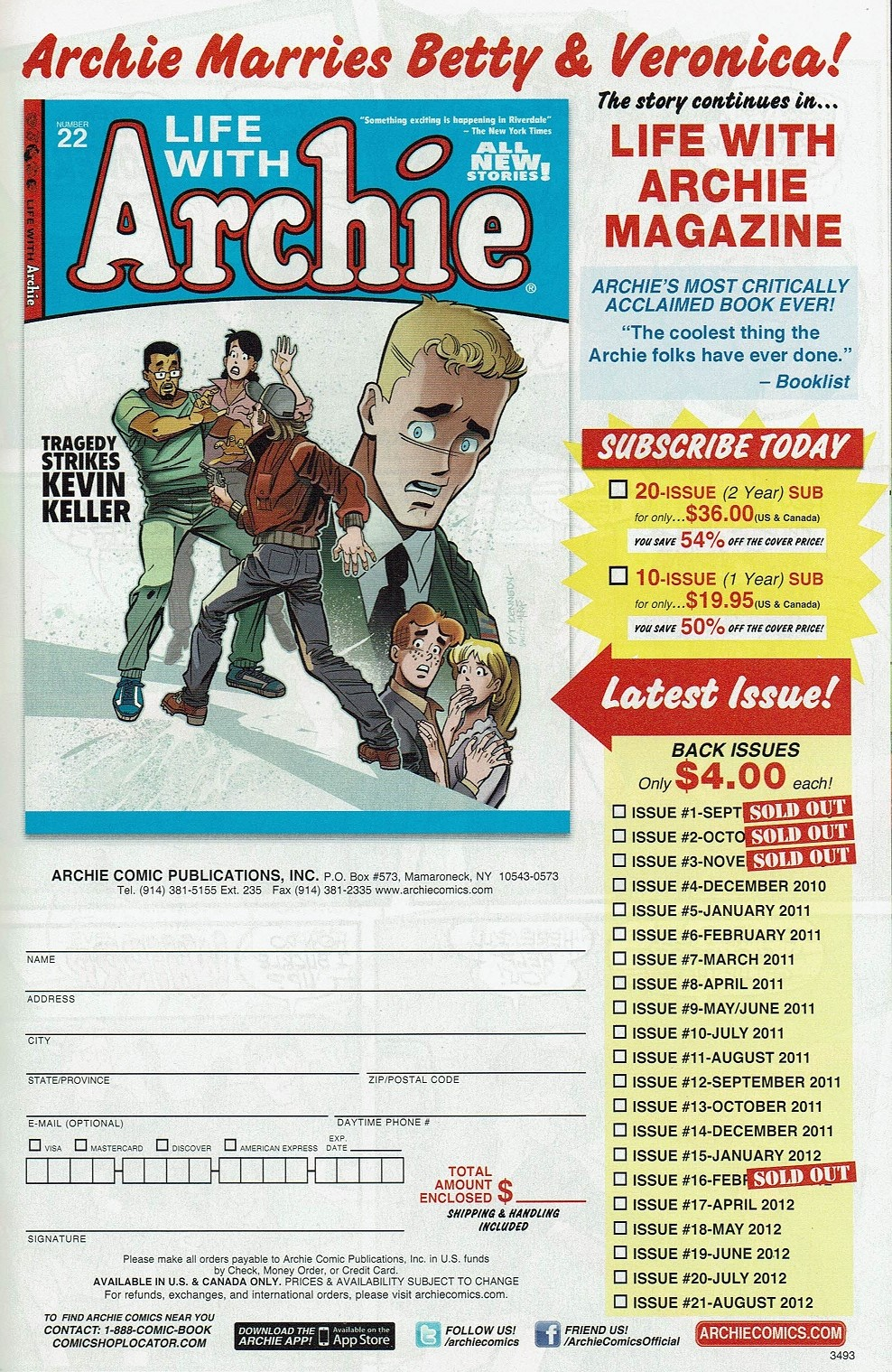 Read online Kevin Keller comic -  Issue #5 - 26