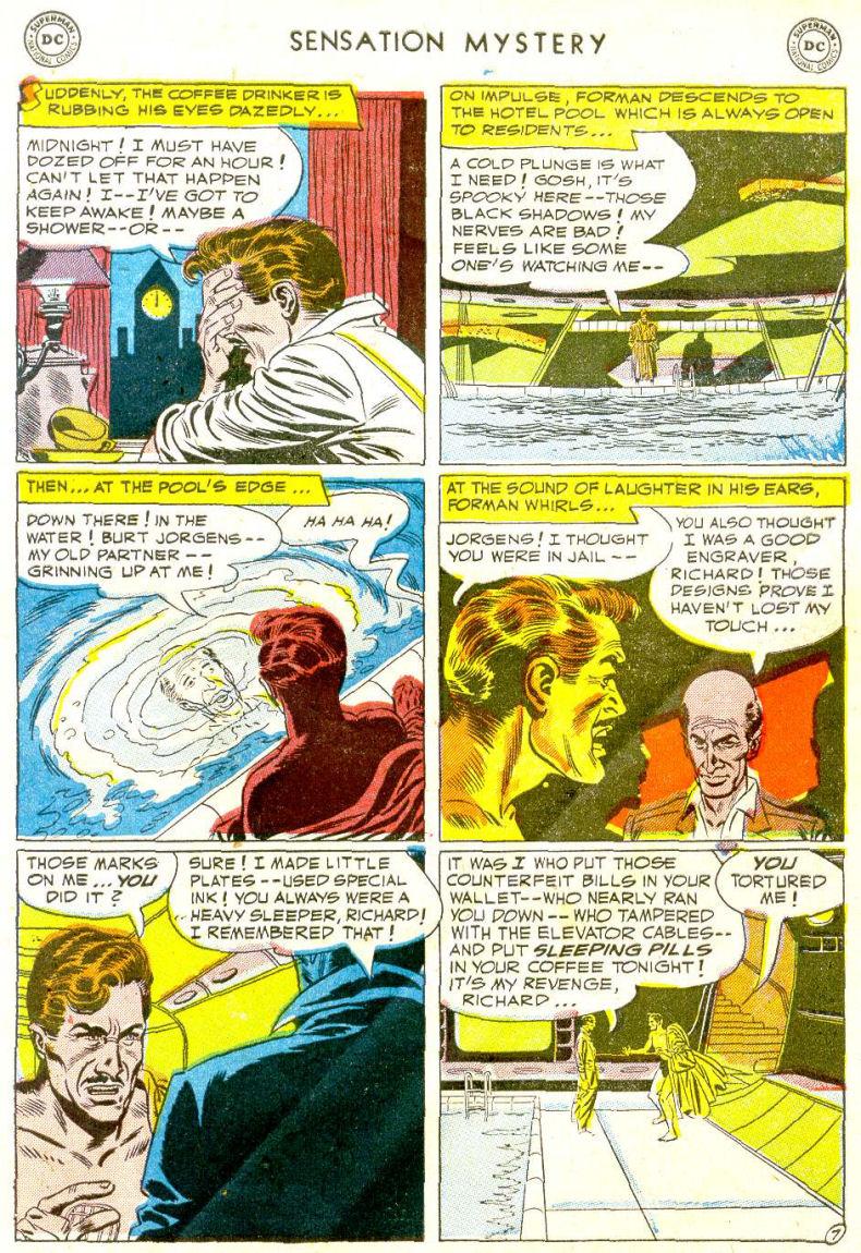 Read online Sensation (Mystery) Comics comic -  Issue #112 - 31