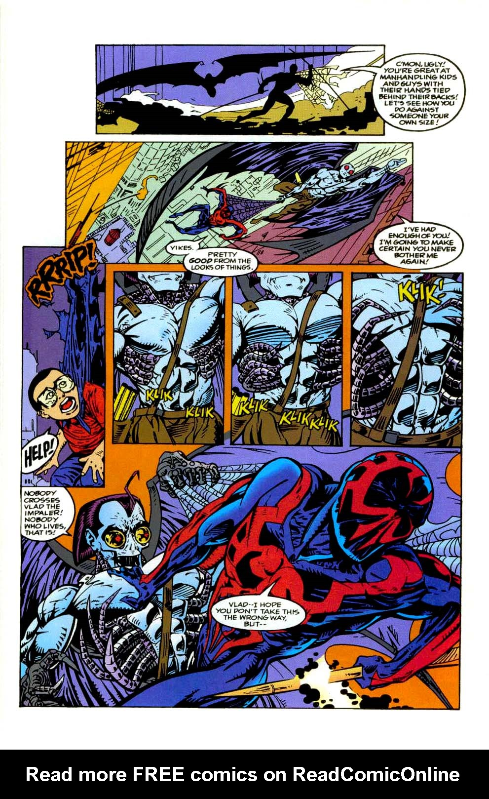 Read online 2099 Unlimited comic -  Issue #9 - 21