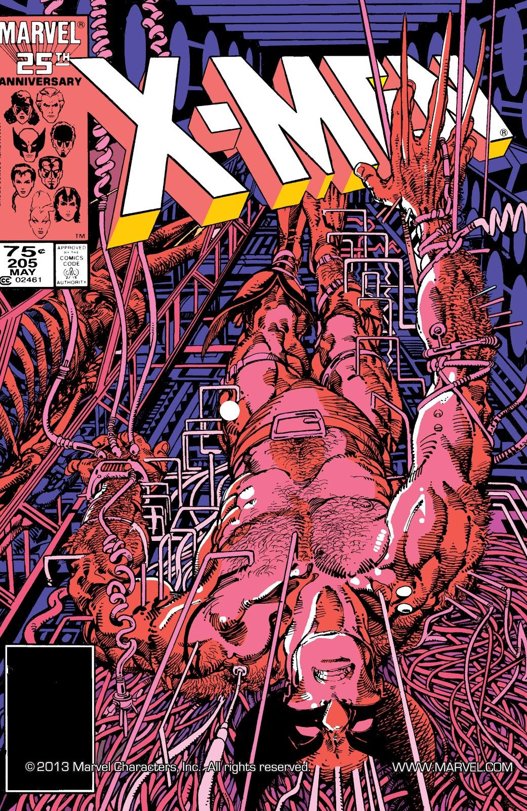 Uncanny X-Men (1963) issue 205 - Page 1