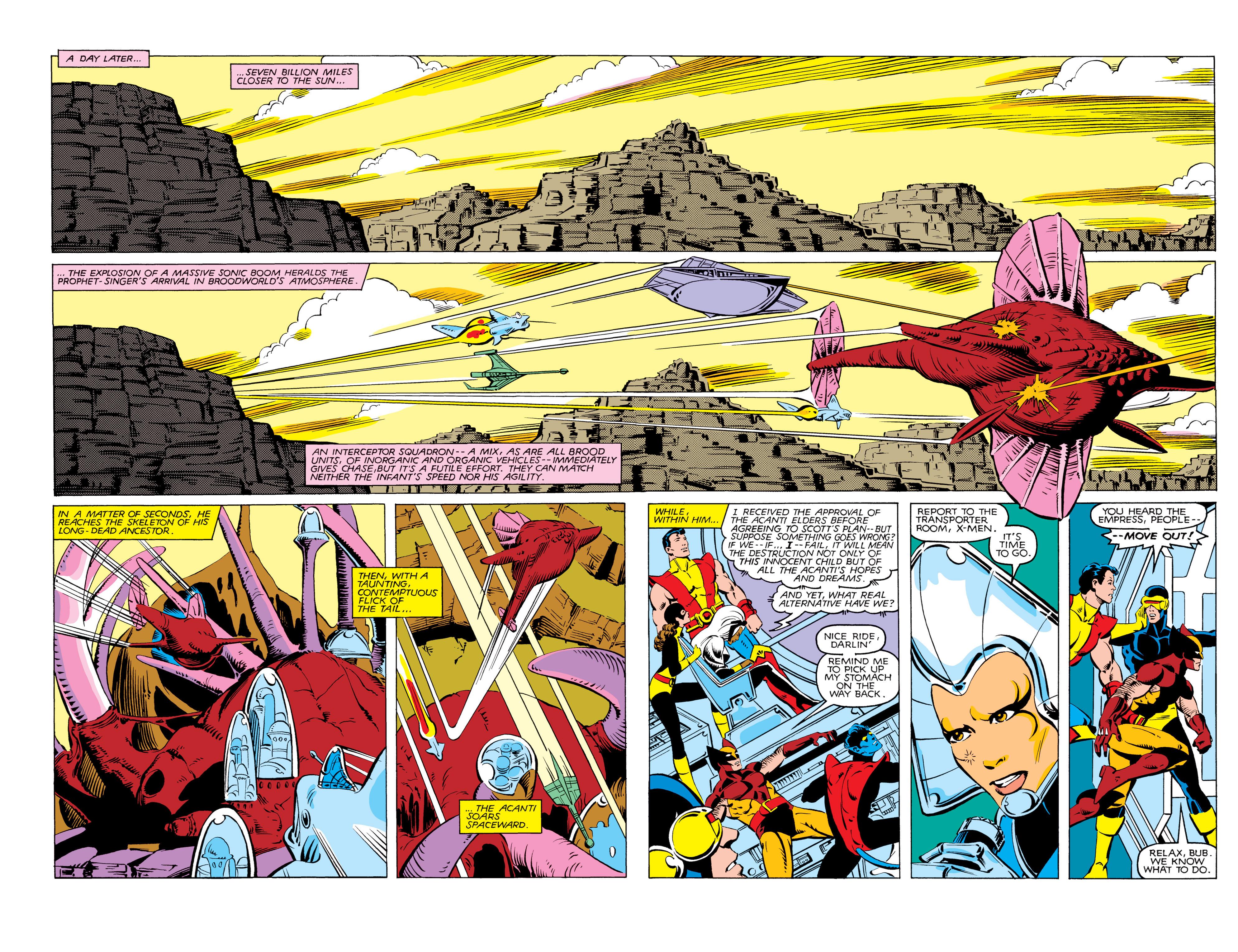 Read online Uncanny X-Men (1963) comic -  Issue #166 - 14