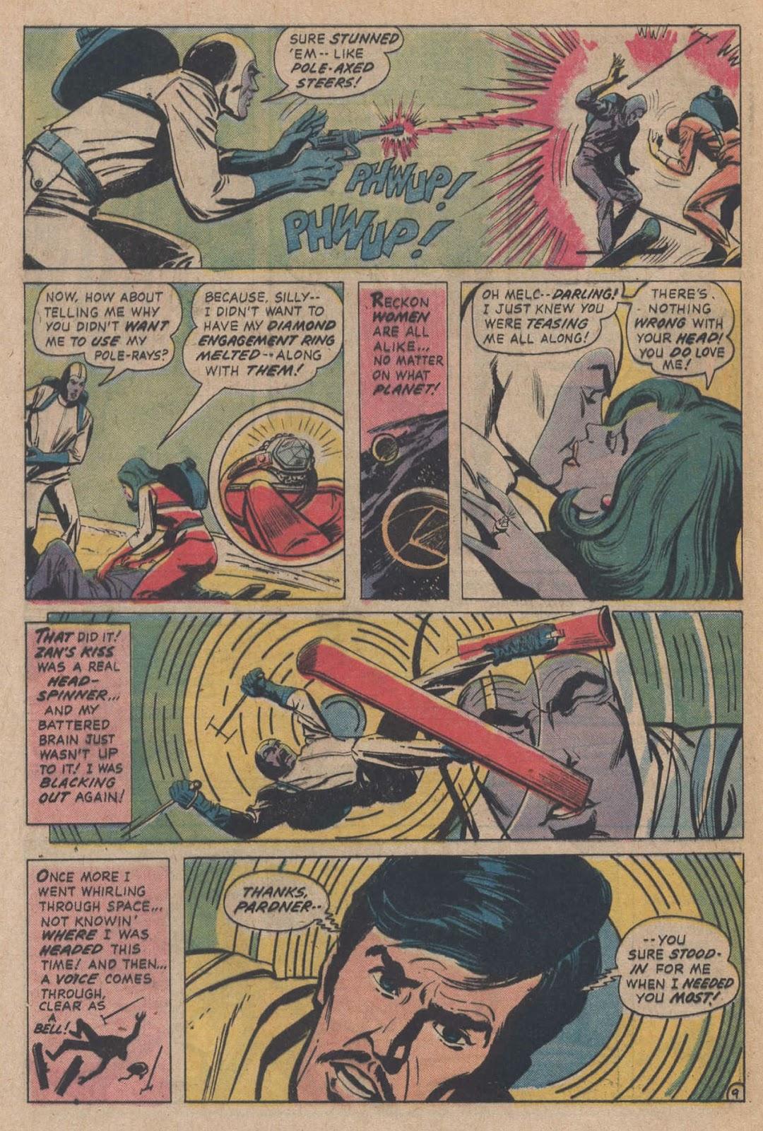 Read online Strange Sports Stories (1973) comic -  Issue #5 - 31