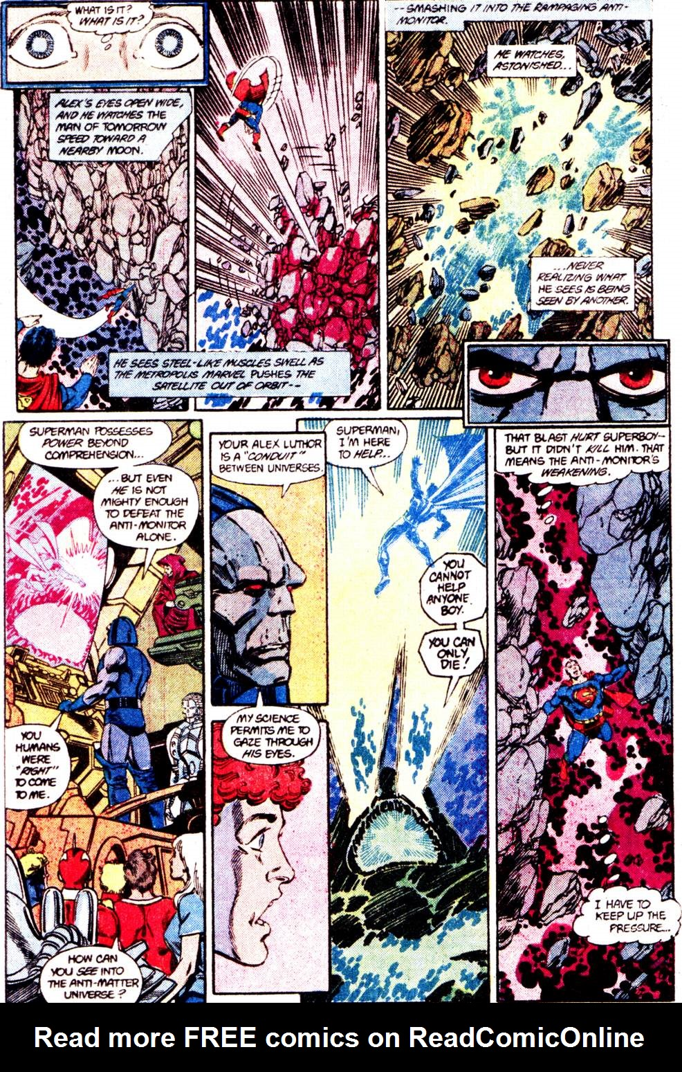 Crisis on Infinite Earths (1985) 12 Page 32
