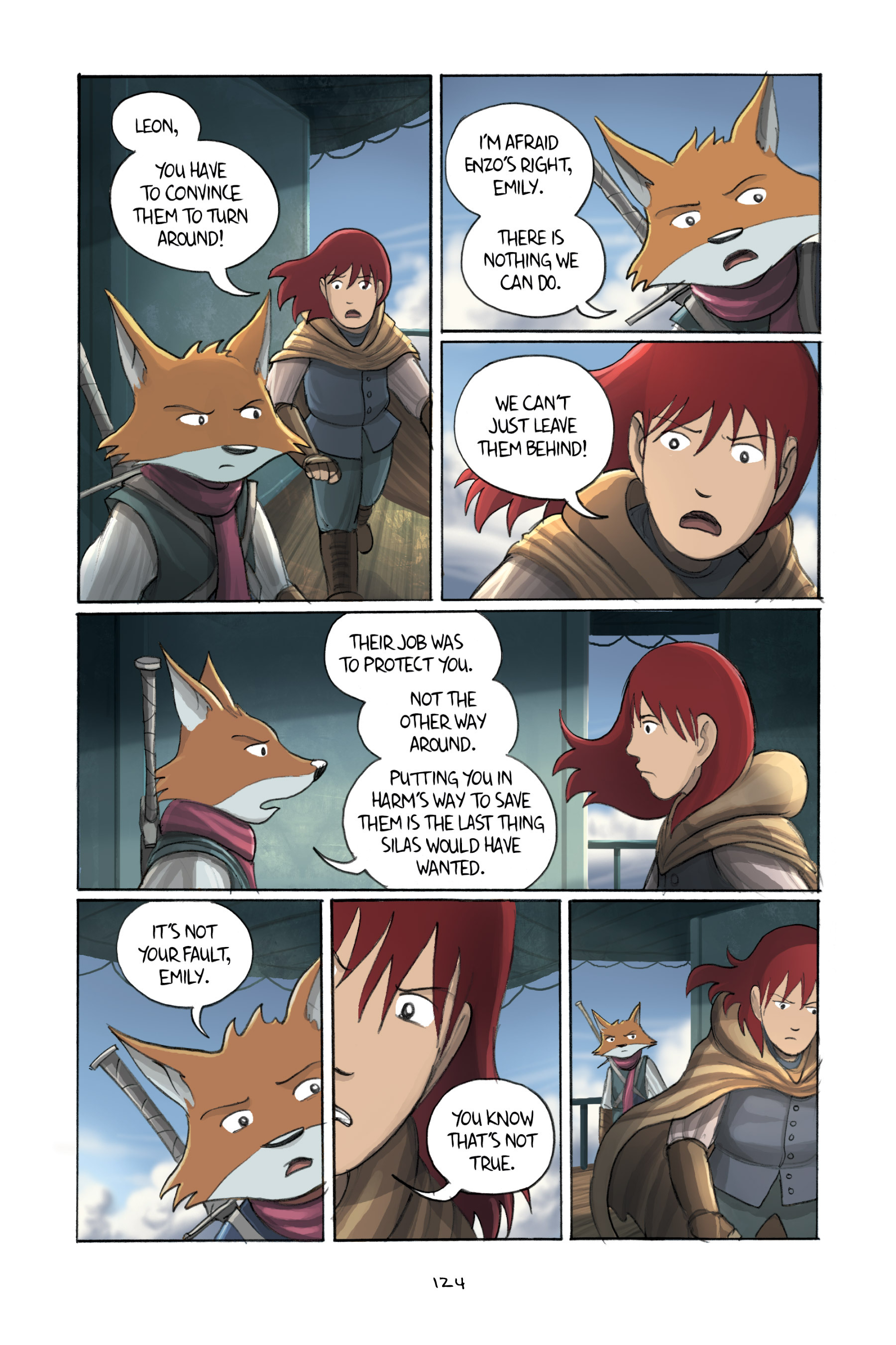 Read online Amulet comic -  Issue #3 - 122