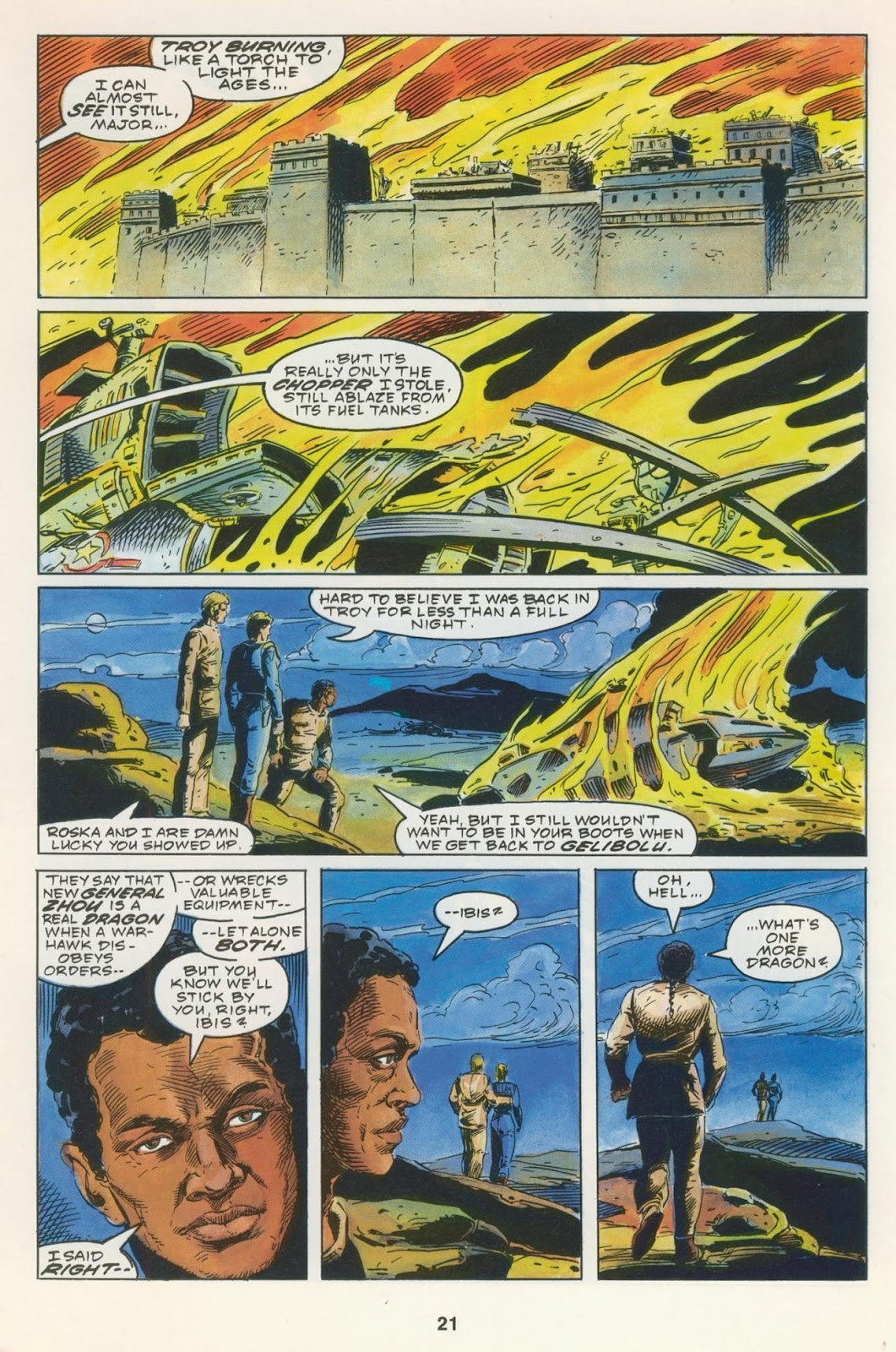 Warhawks issue 4 - Page 23