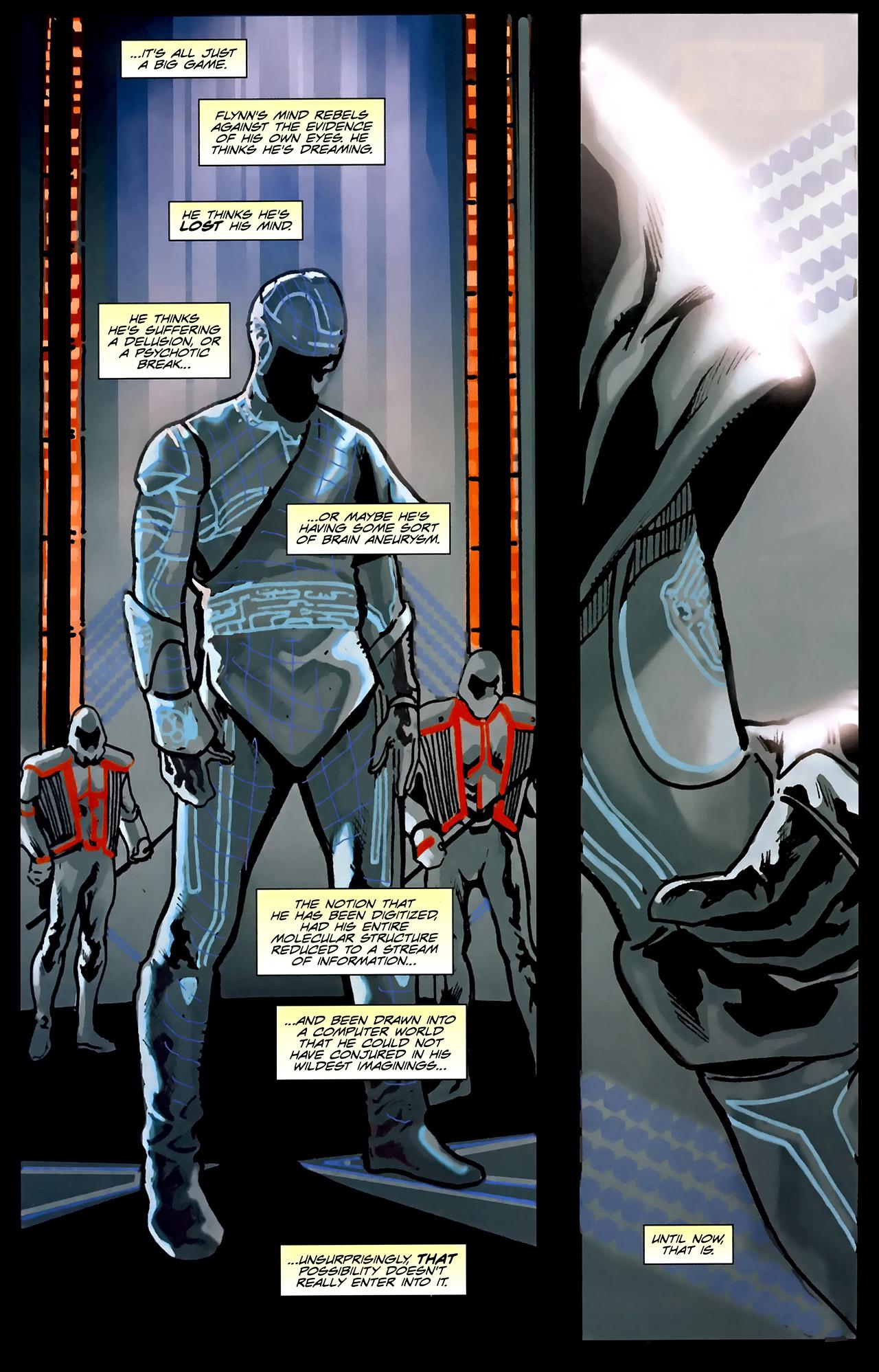 Read online TRON: Original Movie Adaptation comic -  Issue #1 - 30