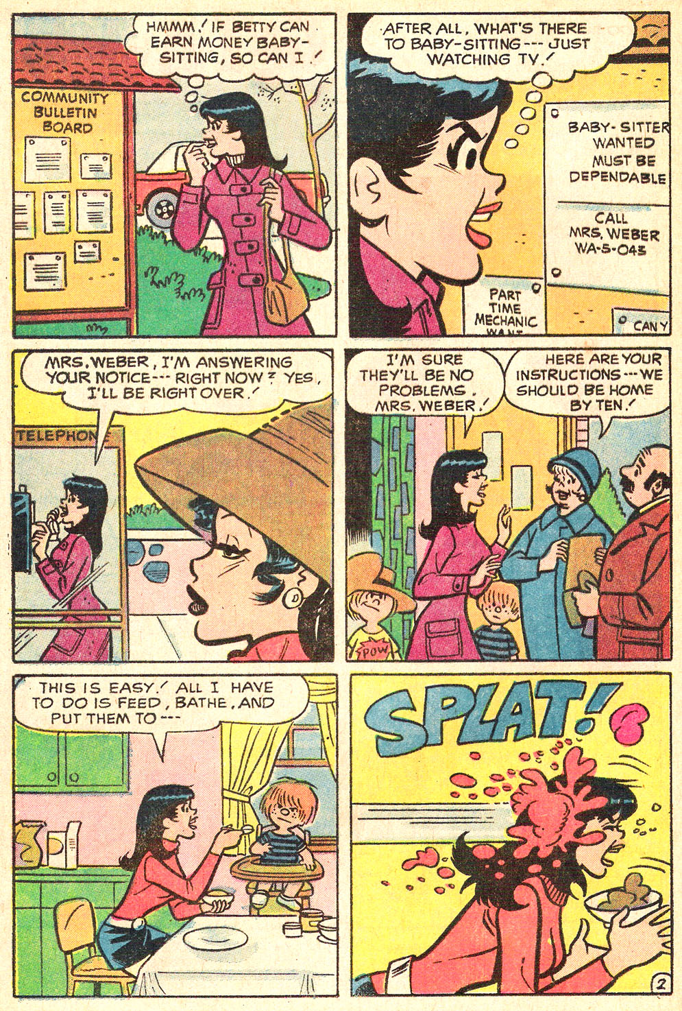 Read online Archie's Girls Betty and Veronica comic -  Issue #196 - 20